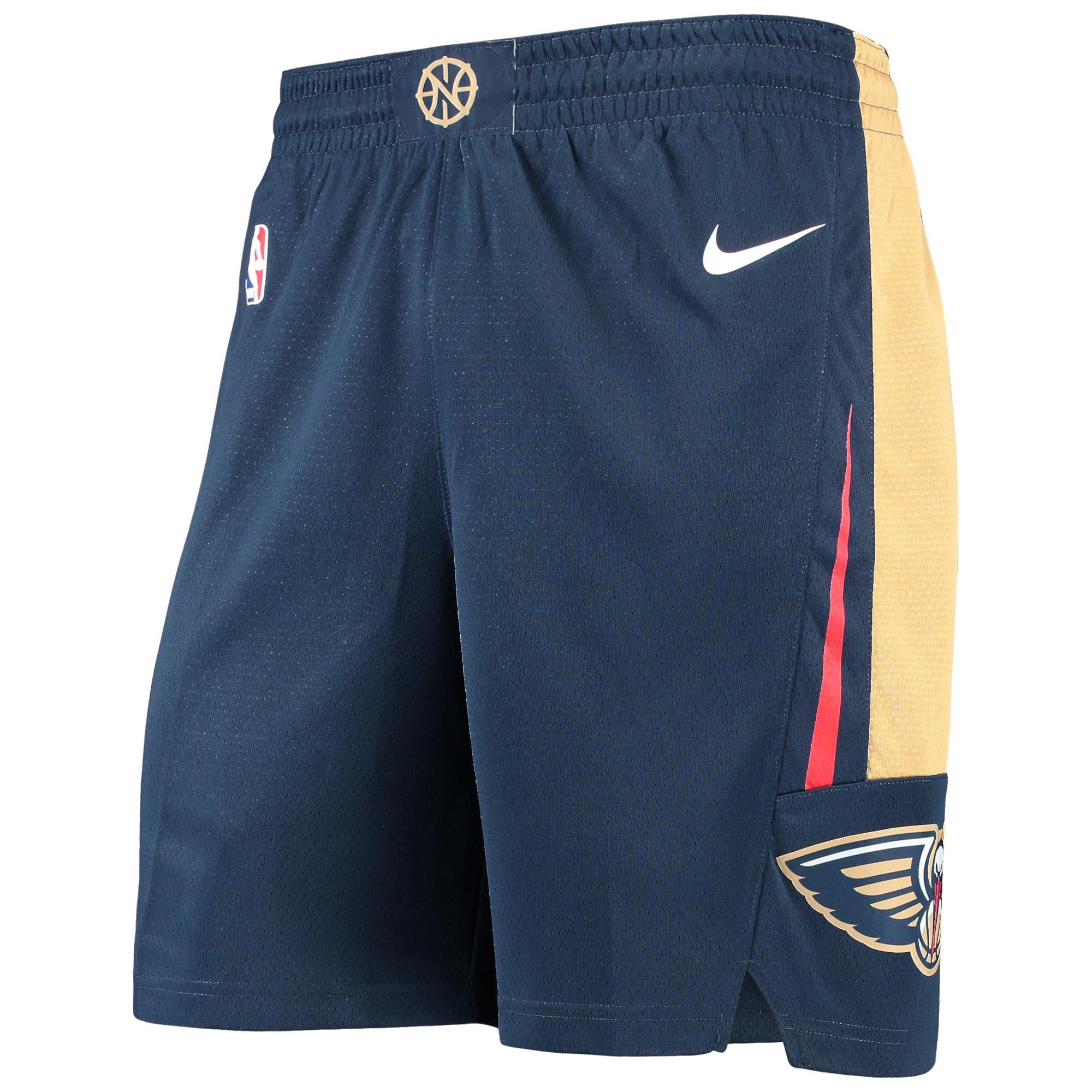 New Orleans Pelicans Nike Icon Swingman Basketball Performance Shorts - Navy