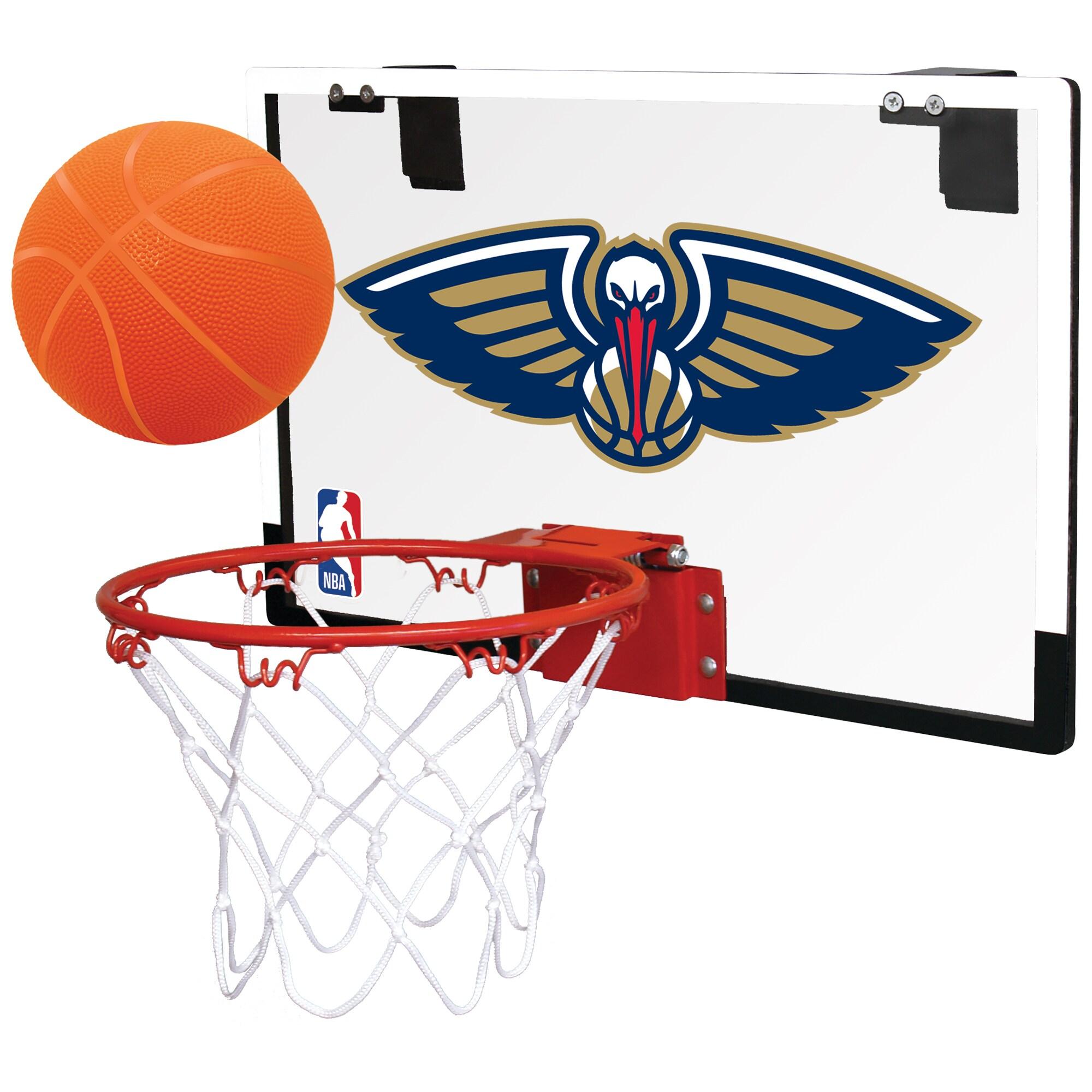 New Orleans Pelicans Rawlings NBA Polycarbonate Hoop Set