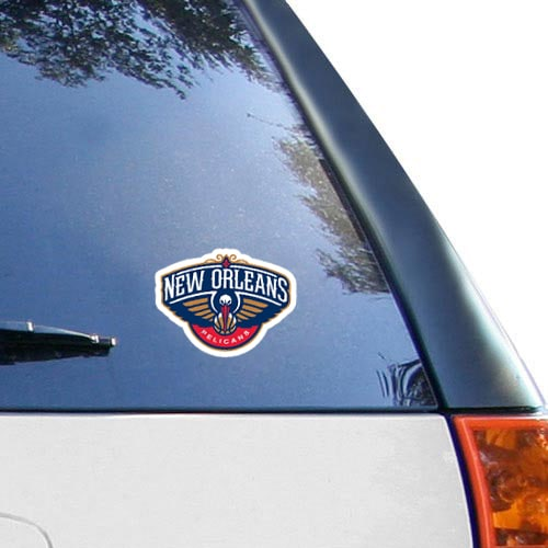 """New Orleans Pelicans WinCraft 4"""" x 4"""" Color Perfect Cut Decal"""