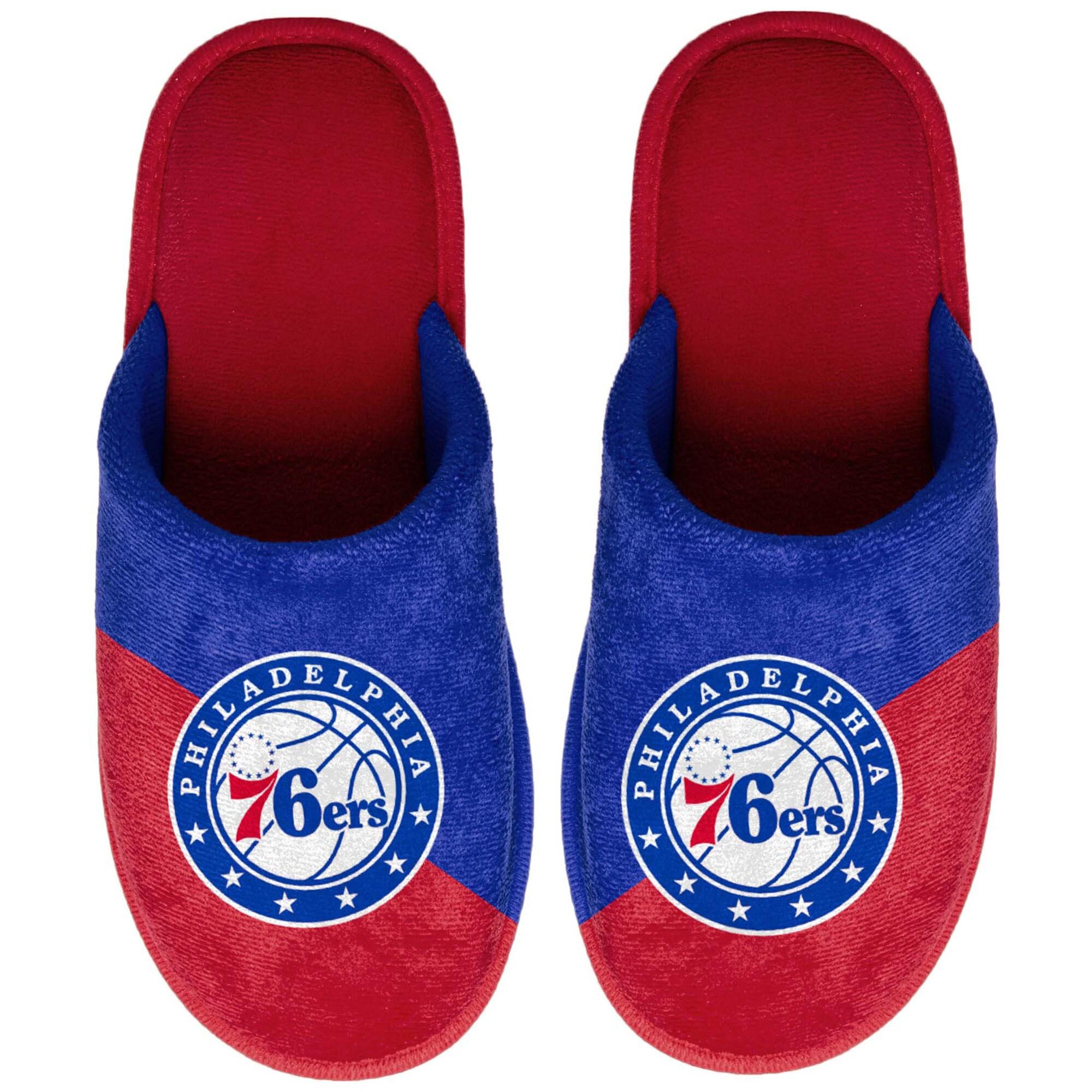 Philadelphia 76ers Big Logo Scuff Slippers