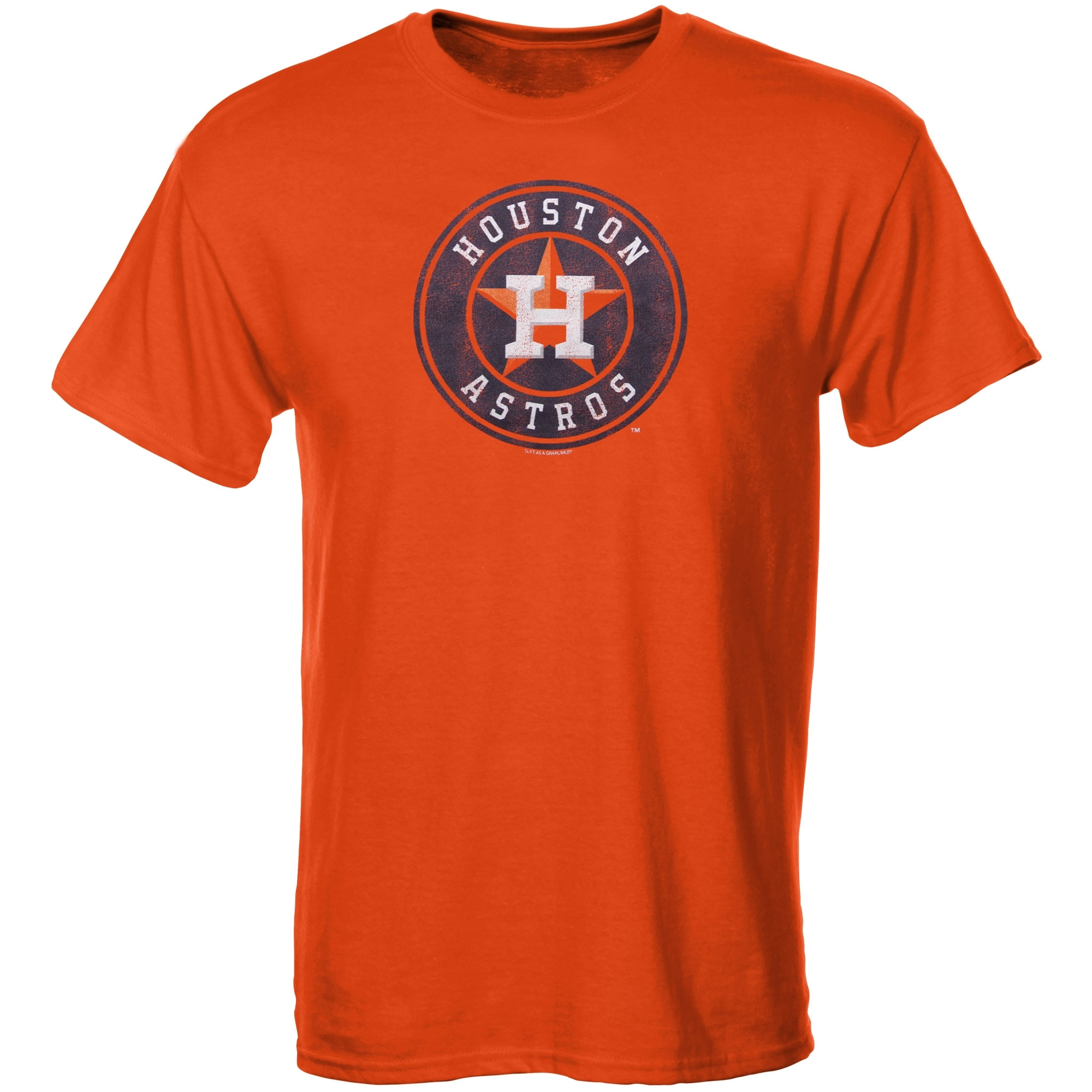 Houston Astros Youth Distressed Logo T-Shirt - Orange