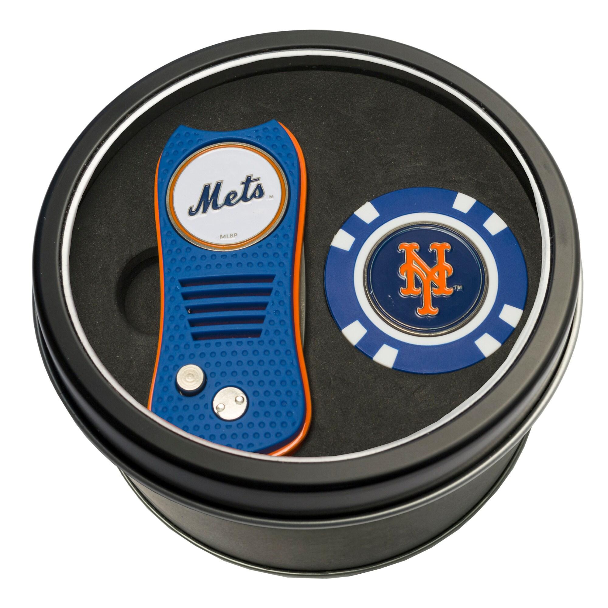 New York Mets Switch Chip Golf Tin Set
