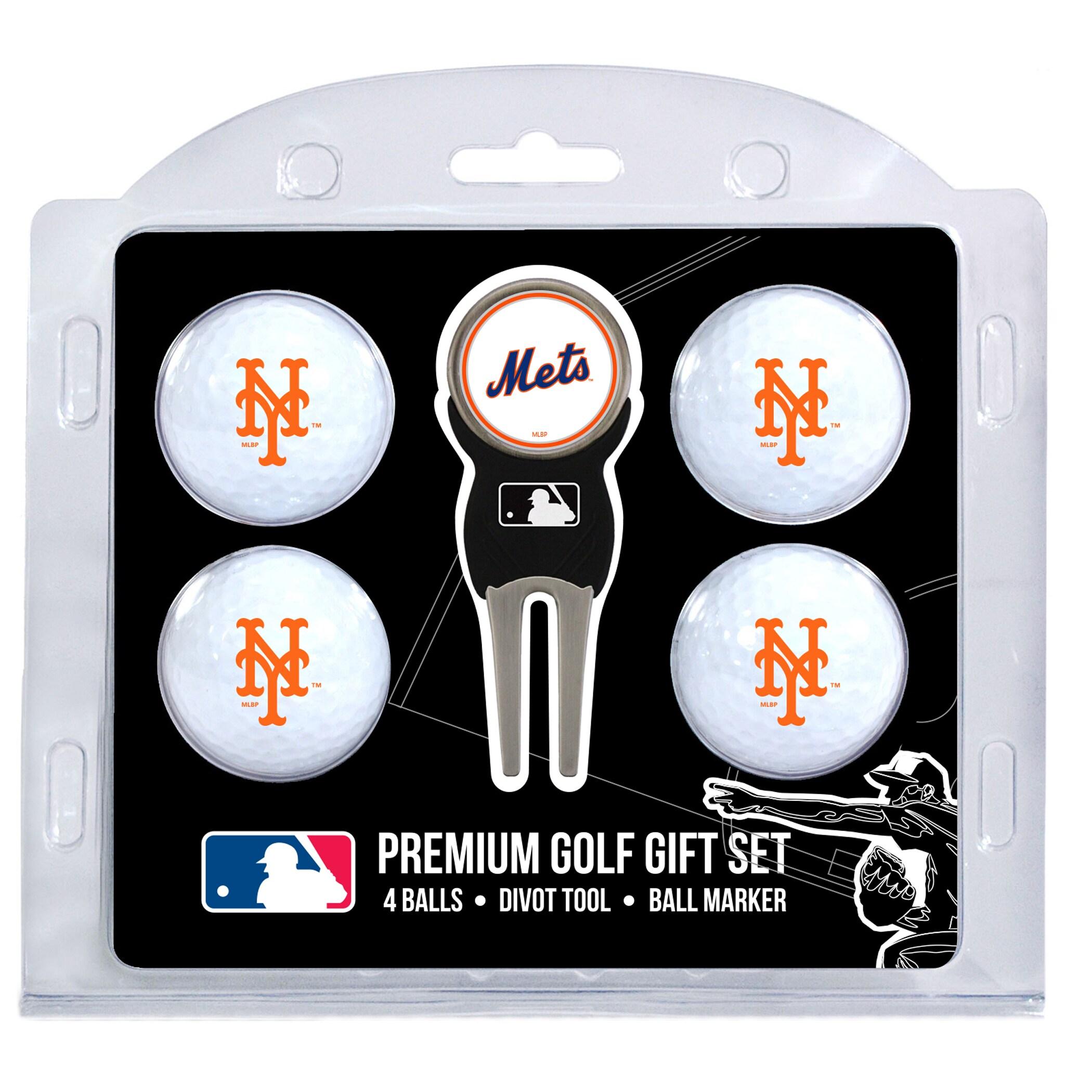 New York Mets 4-Ball Gift Set