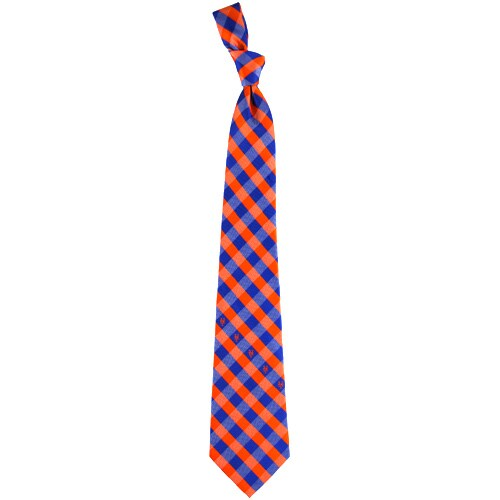 New York Mets Woven Checkered Tie