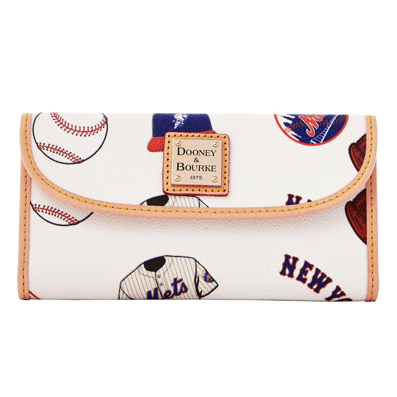 New York Mets Dooney & Bourke Women's Continental Clutch