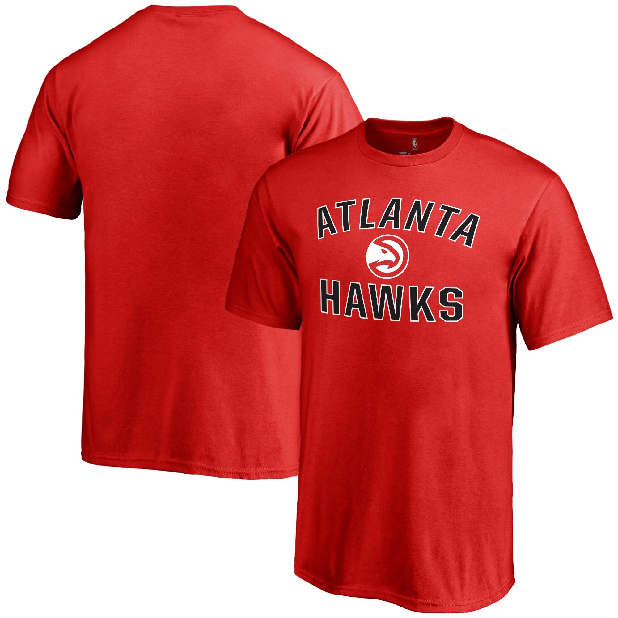 Atlanta Hawks Youth Victory Arch T-Shirt - Red