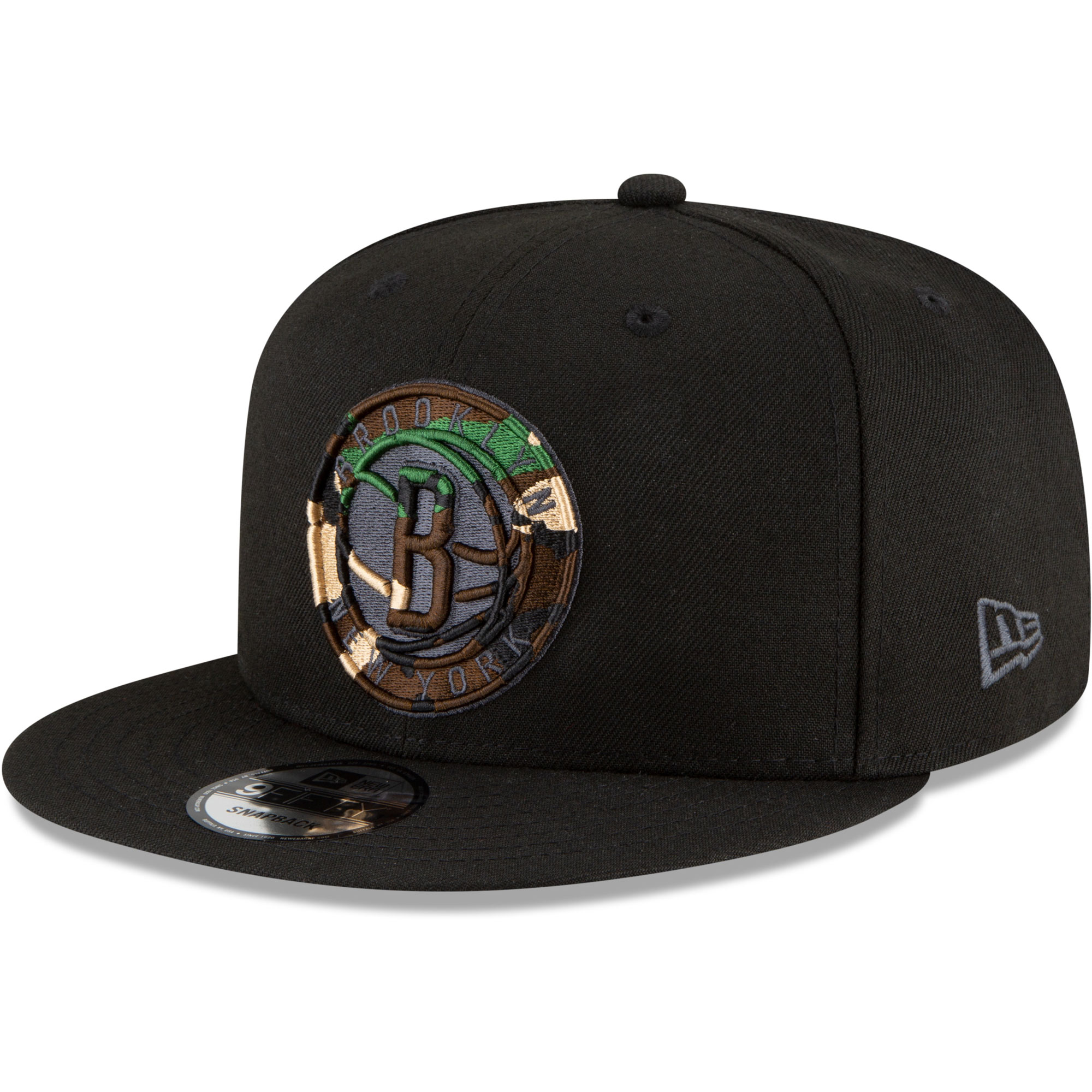 Brooklyn Nets New Era Extreme 9FIFTY Snapback Hat - Black