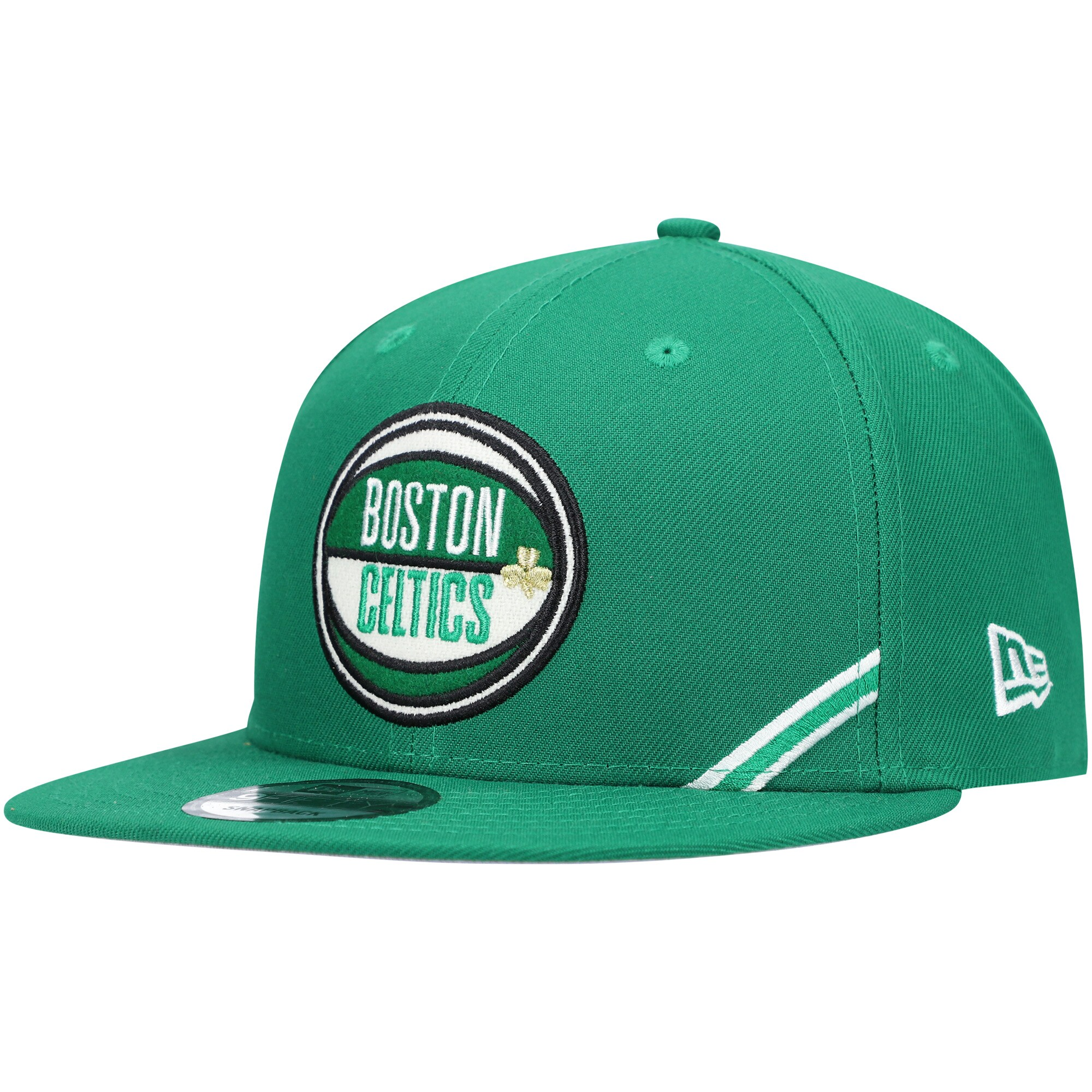 Boston Celtics New Era 2019 Draft 9FIFTY Snapback Hat - Kelly Green