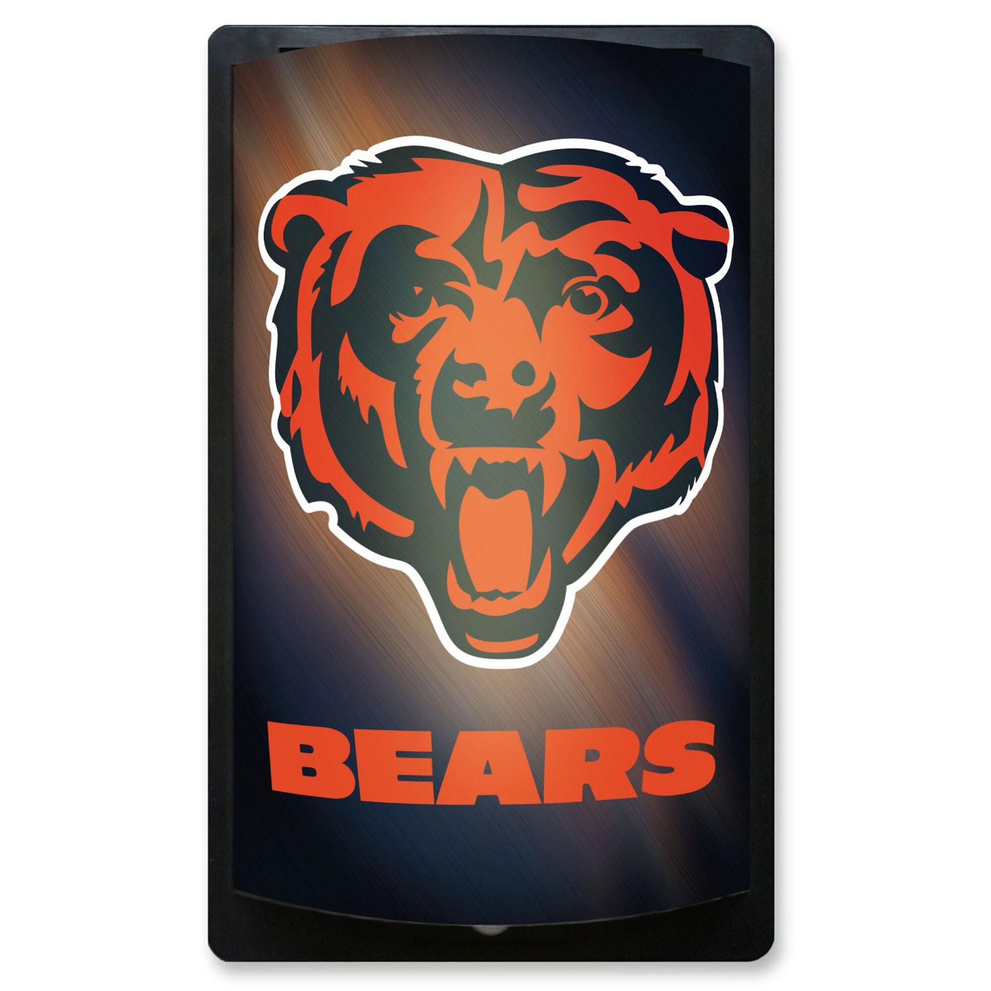 Chicago Bears 12.5'' x 7.5'' MotiGlow Sign