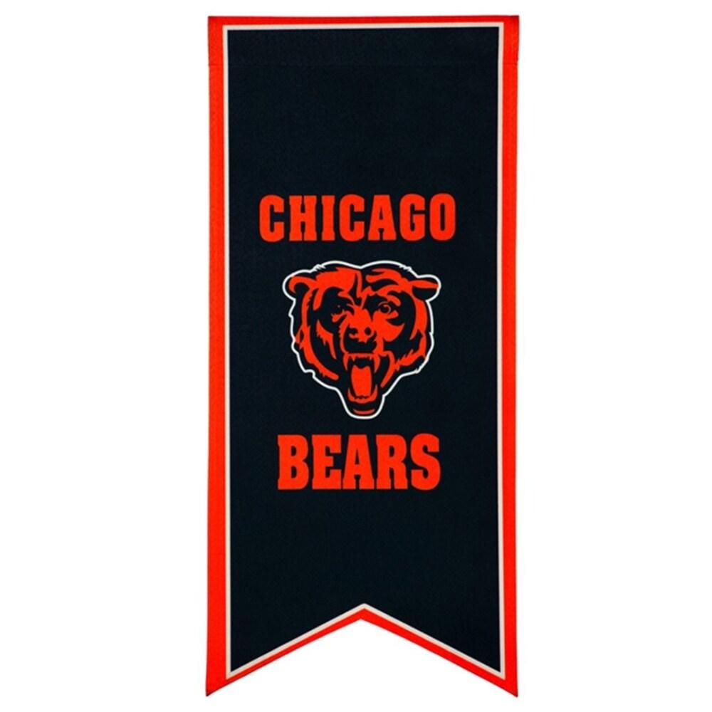Chicago Bears 12.5'' x 28'' Flag Banner