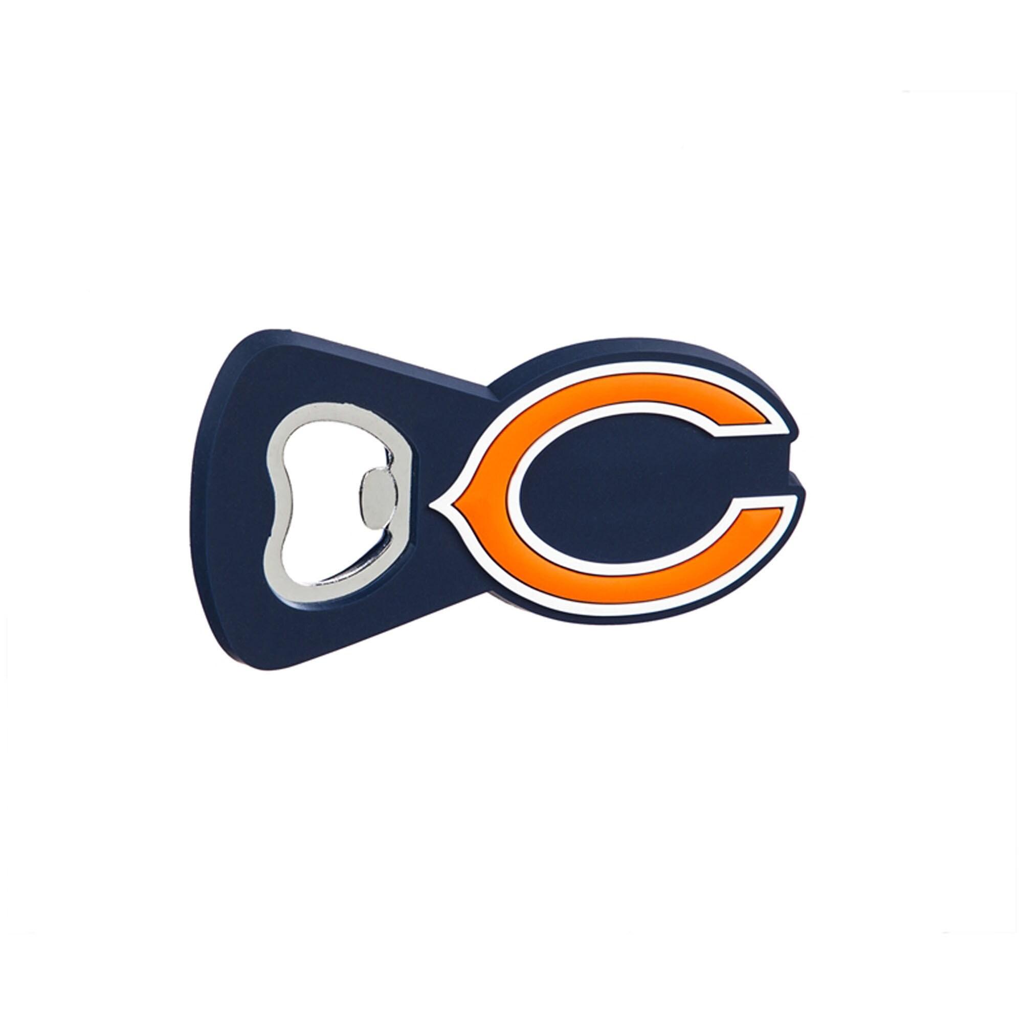 Chicago Bears Team Magnet Bottle Opener