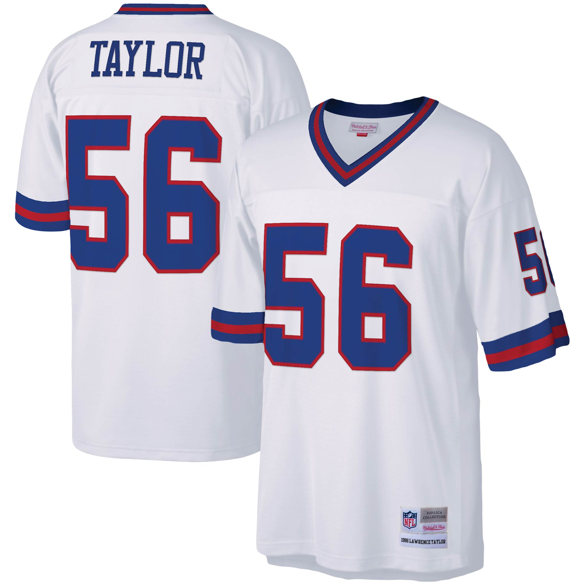 Lawrence Taylor New York Giants Mitchell & Ness Legacy Replica Jersey - White