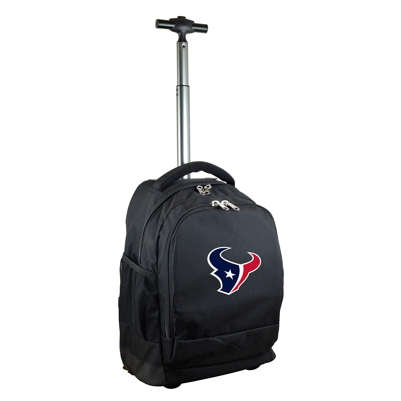 Houston Texans 19'' Premium Wheeled Backpack - Black