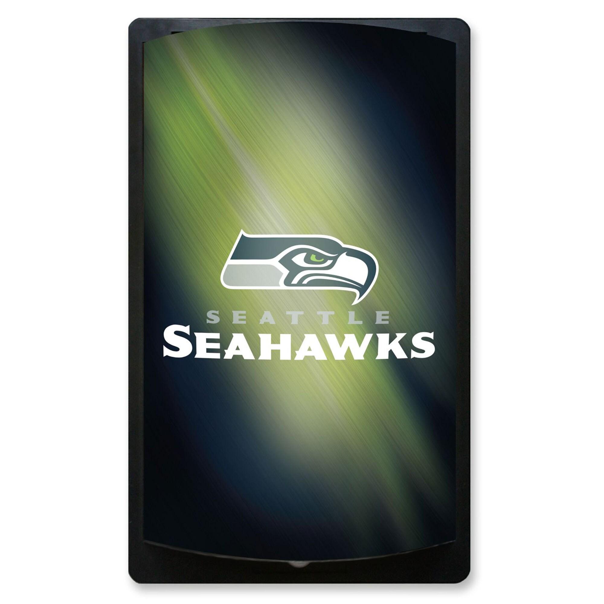 Seattle Seahawks 12.5'' x 7.5'' MotiGlow Sign