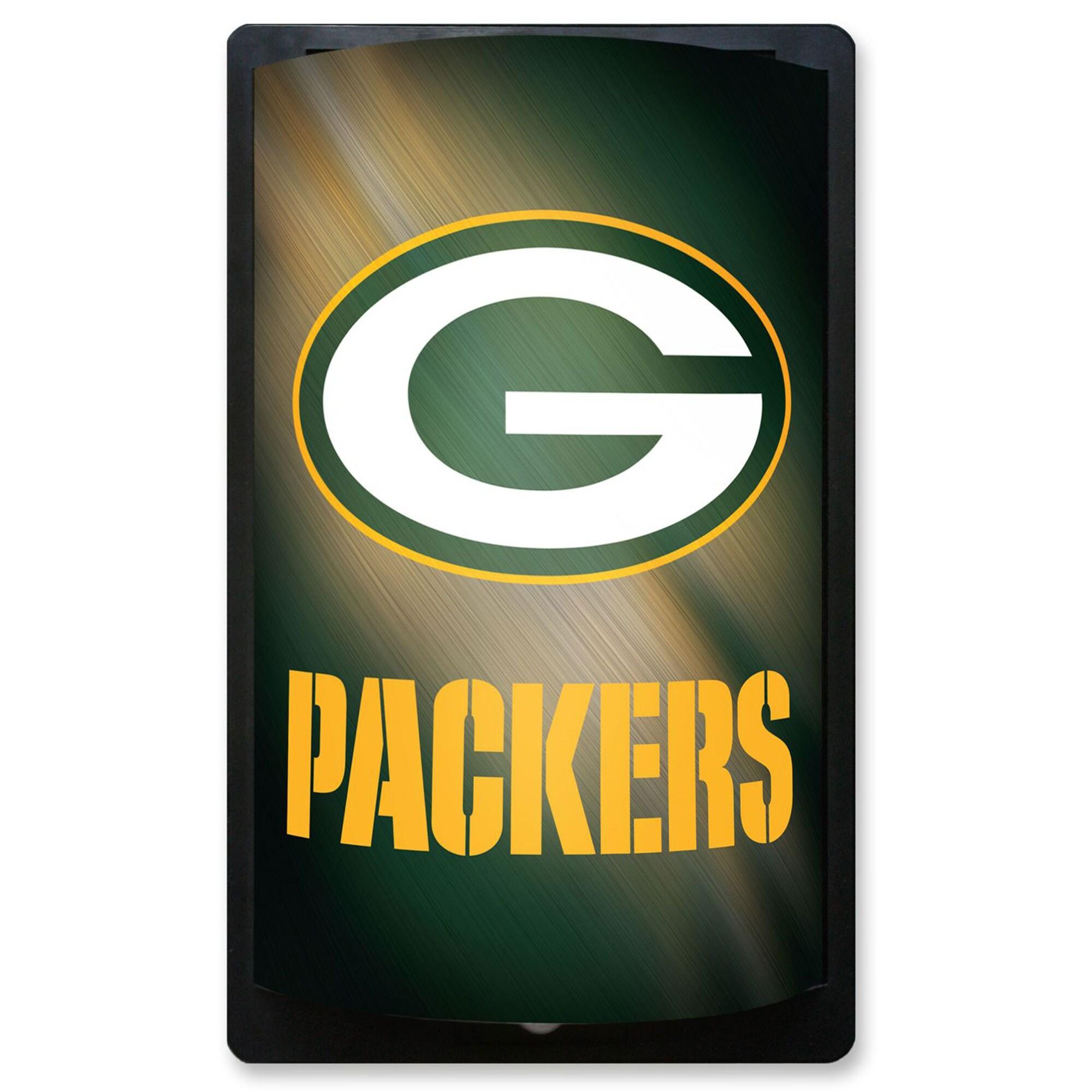 Green Bay Packers 12.5'' x 7.5'' MotiGlow Sign