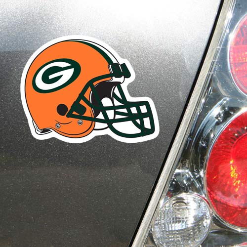 "Green Bay Packers WinCraft 5"" Helmet Die-Cut Car Magnet"
