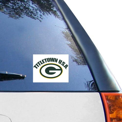 "Green Bay Packers WinCraft Titletown USA 5"" x 6"" Multi-Use Decal"