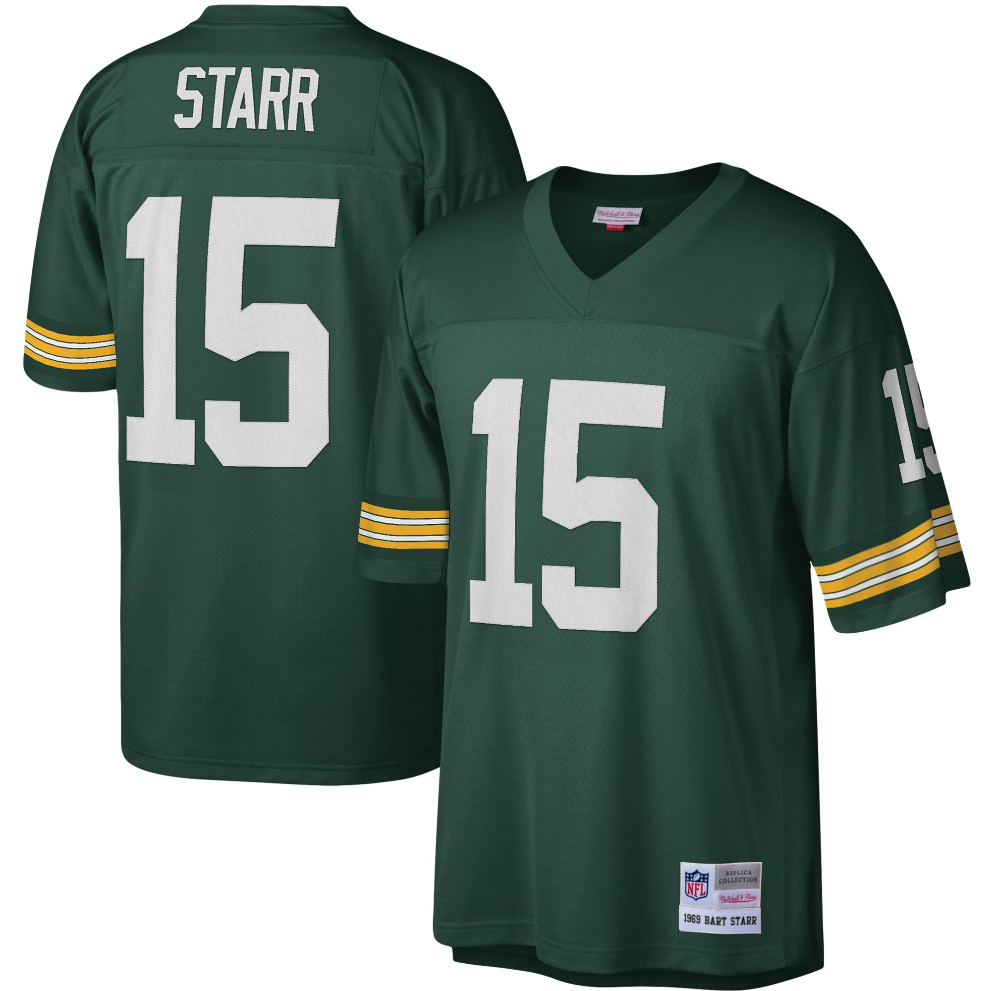 Bart Starr Green Bay Packers Mitchell & Ness Legacy Replica Jersey - Green