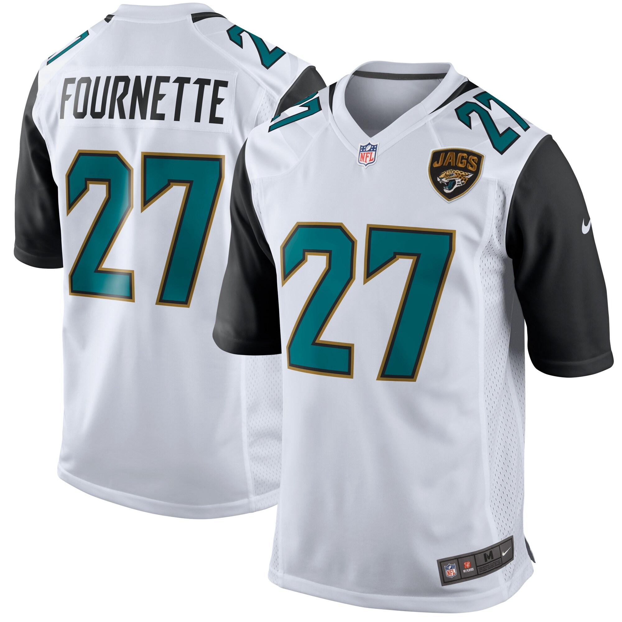 Leonard Fournette Jacksonville Jaguars Nike Game Jersey - White