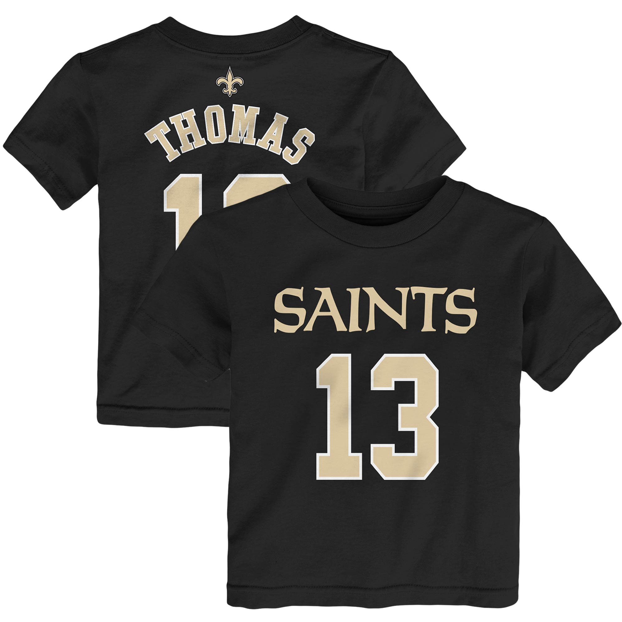Michael Thomas New Orleans Saints Toddler Mainliner Player Name & Number T-Shirt - Black