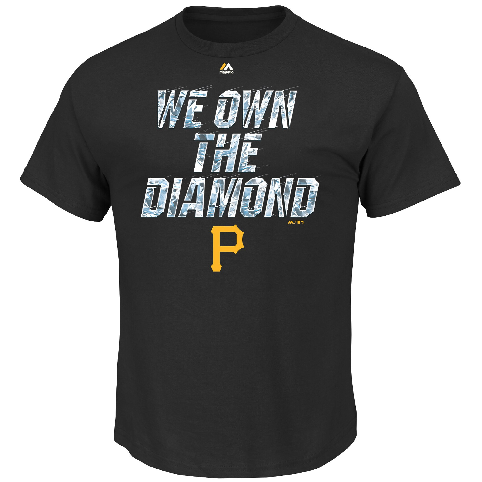 Pittsburgh Pirates Majestic We Own the Diamond T-Shirt - Black