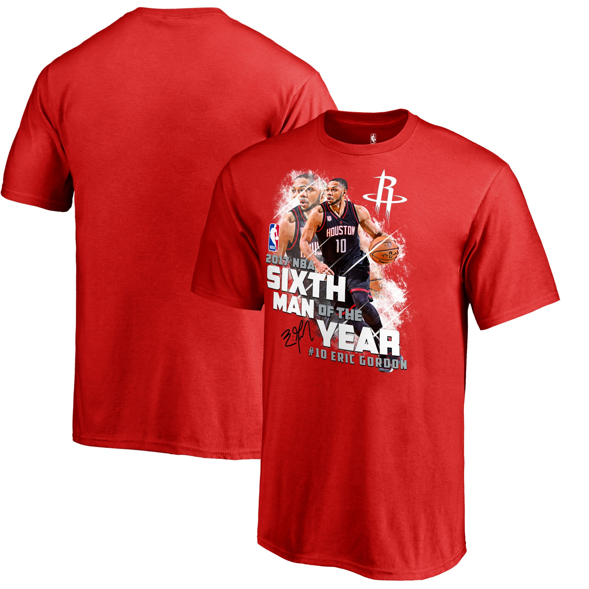 Eric Gordon Houston Rockets Fanatics Branded Youth 2017 NBA 6th Man Of The Year T-Shirt - Red