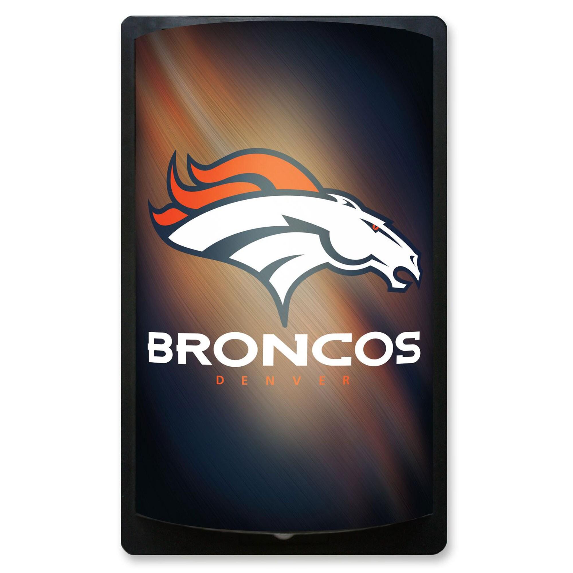 Denver Broncos 12.5'' x 7.5'' MotiGlow Sign