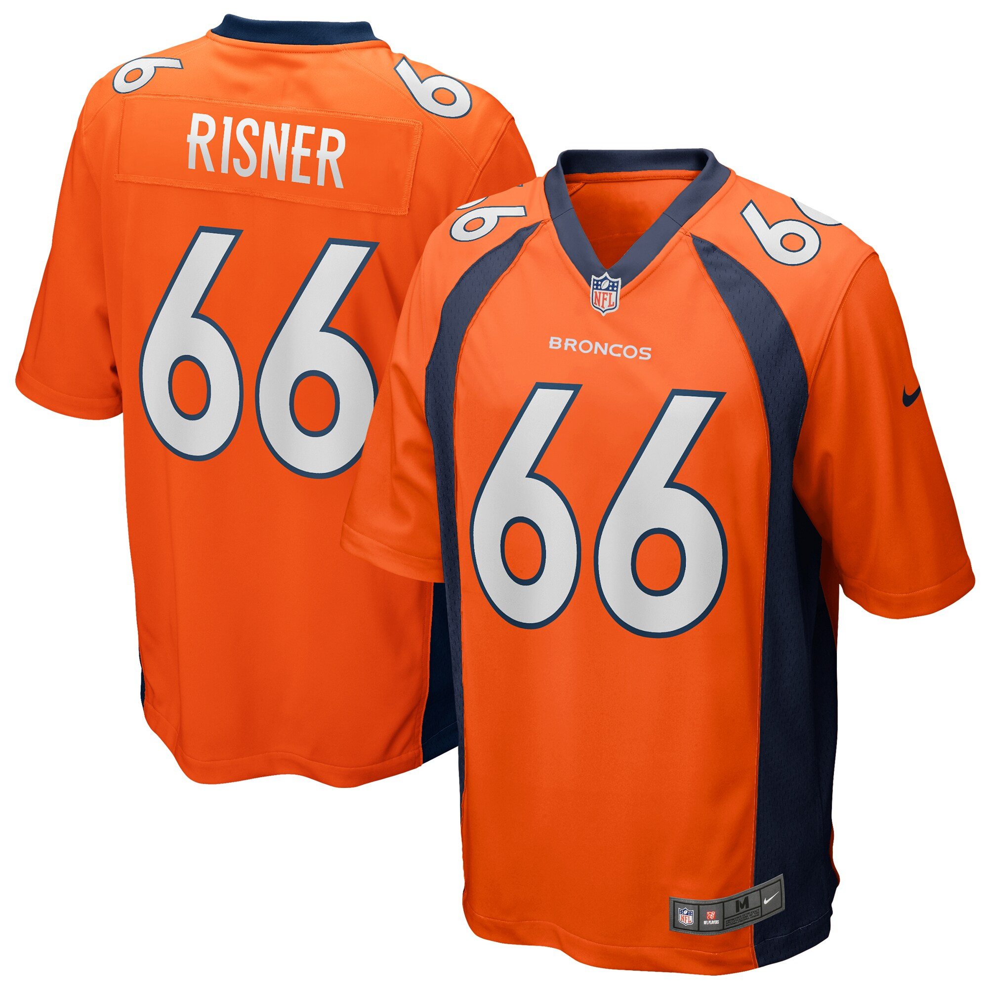 Dalton Risner Denver Broncos Nike Game Jersey - Orange