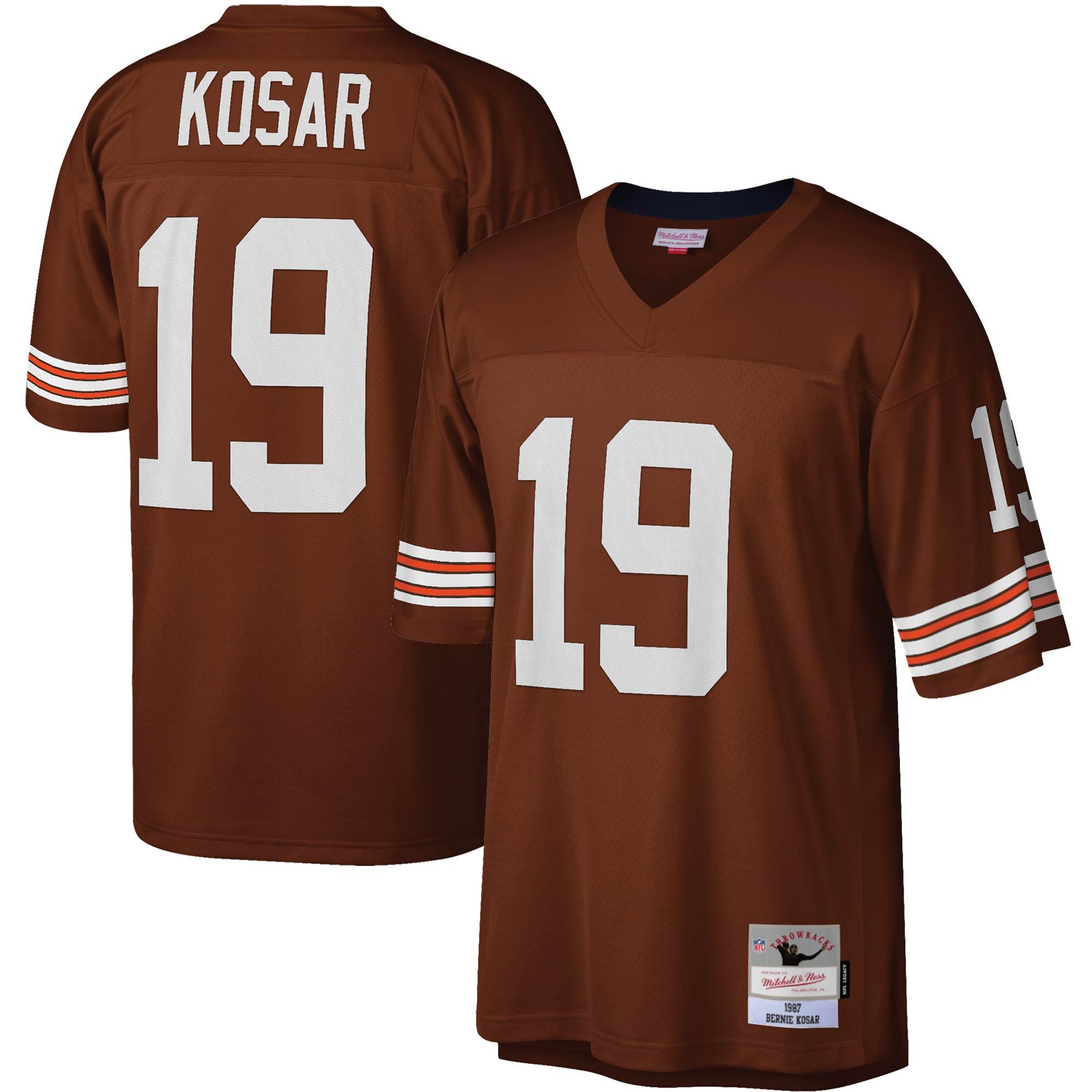 Bernie Kosar Cleveland Browns Mitchell & Ness Legacy Replica Jersey - Brown