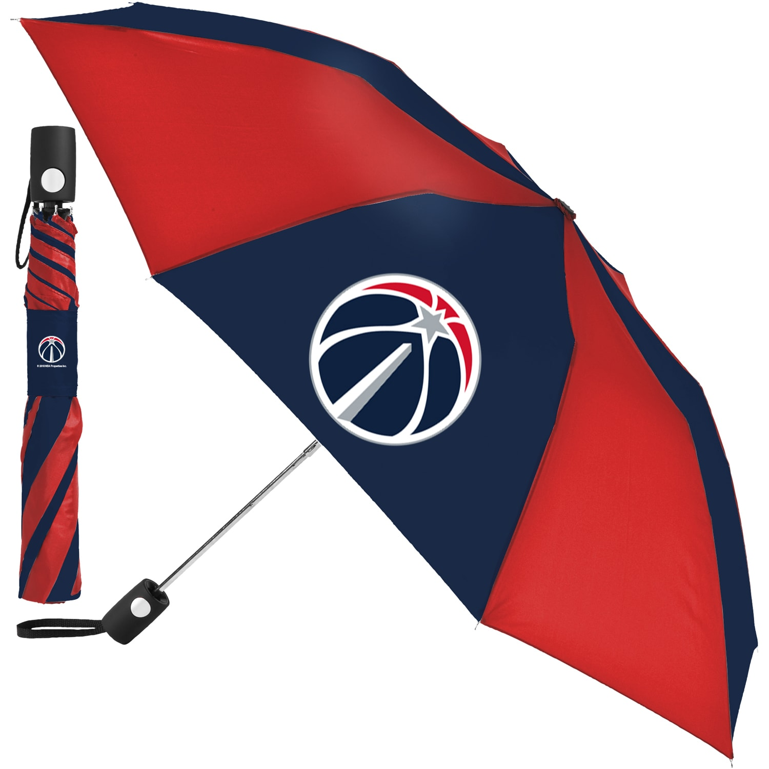 "Washington Wizards WinCraft 42"" Folding Umbrella"