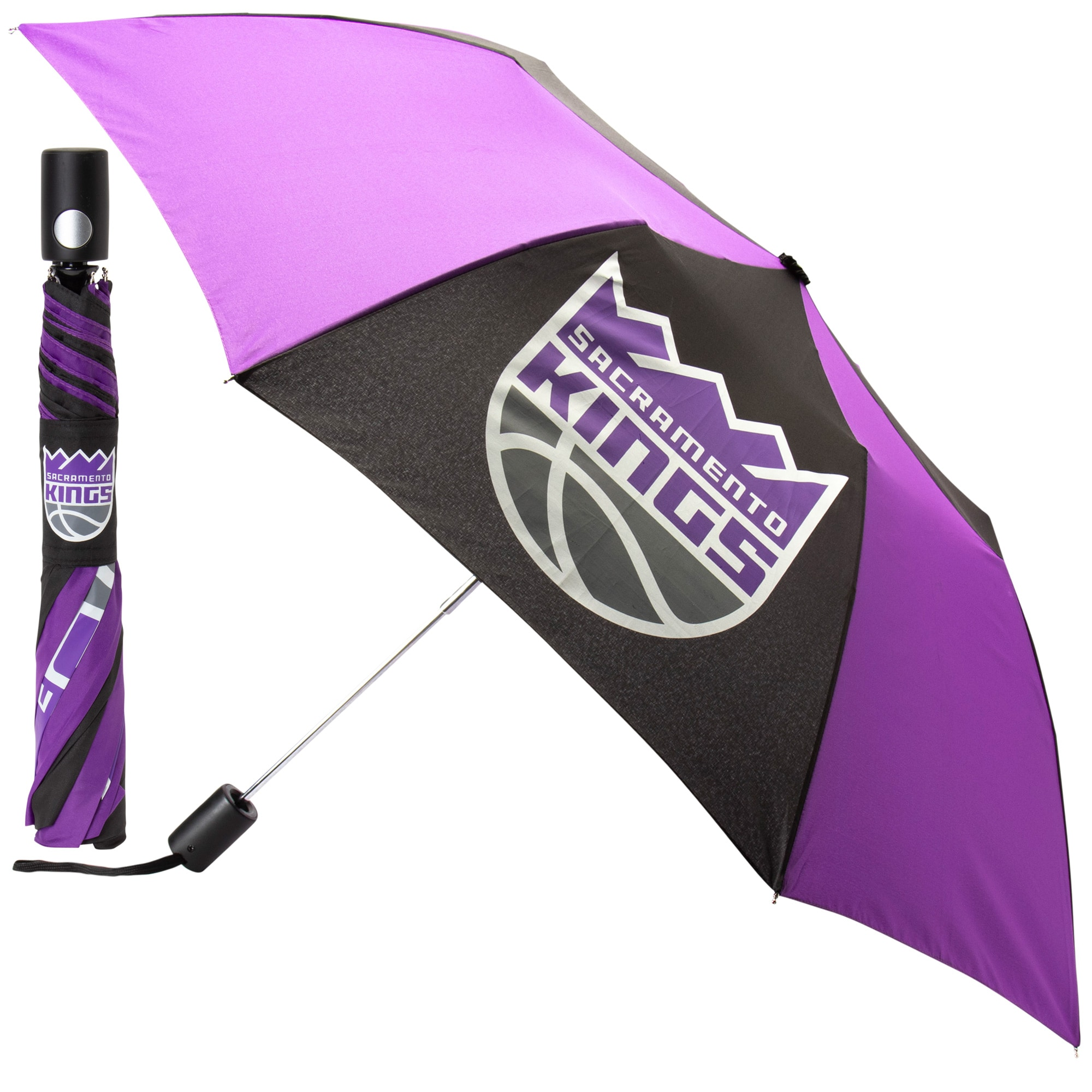 "Sacramento Kings WinCraft 42"" Team Logo Folding Umbrella"