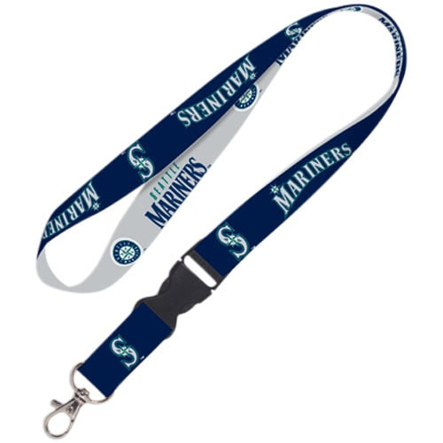 Seattle Mariners WinCraft Lanyard with Detachable Buckle
