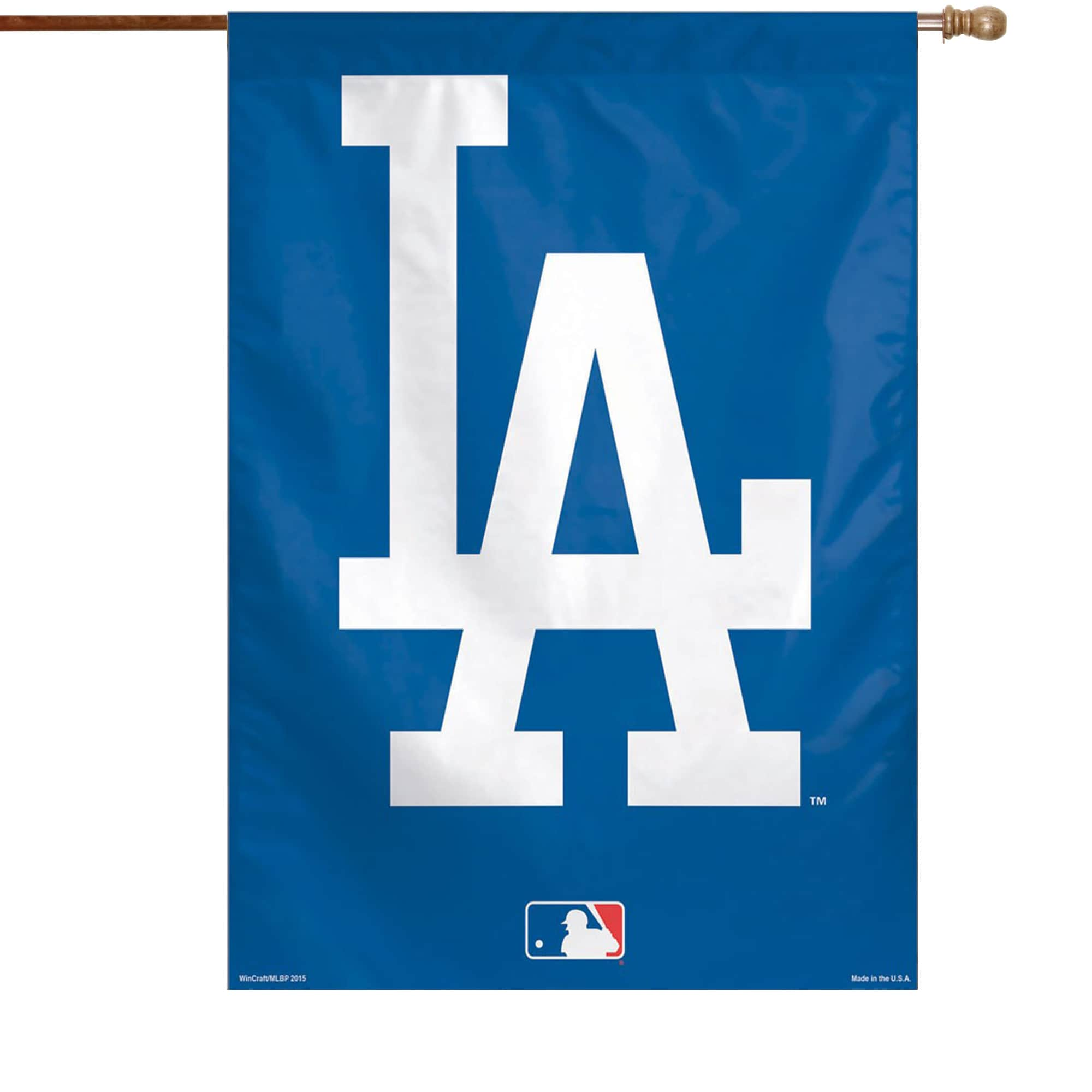 """Los Angeles Dodgers WinCraft 28"""" x 40"""" Big Logo Single-Sided Vertical Banner"""