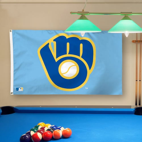 Milwaukee Brewers WinCraft Deluxe 3' x 5' Flag