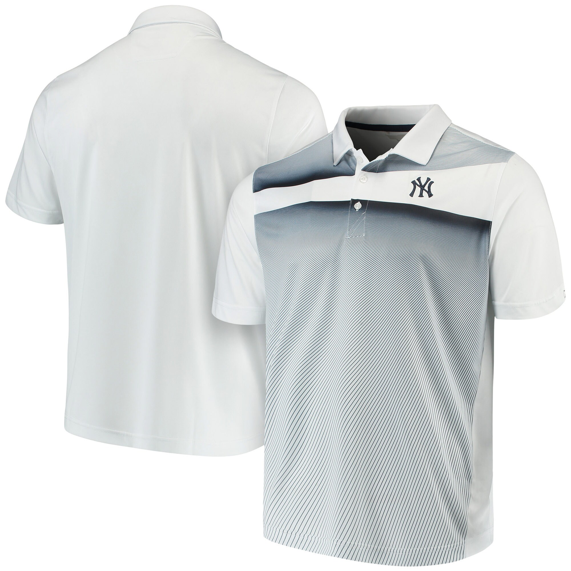 New York Yankees Cutter & Buck Ascend Polo - Navy