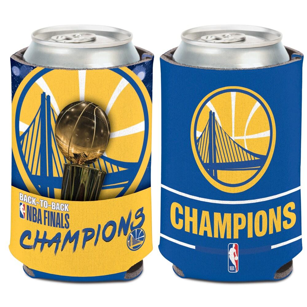 Golden State Warriors WinCraft 2018 NBA Finals Champions 12oz. Can Cooler