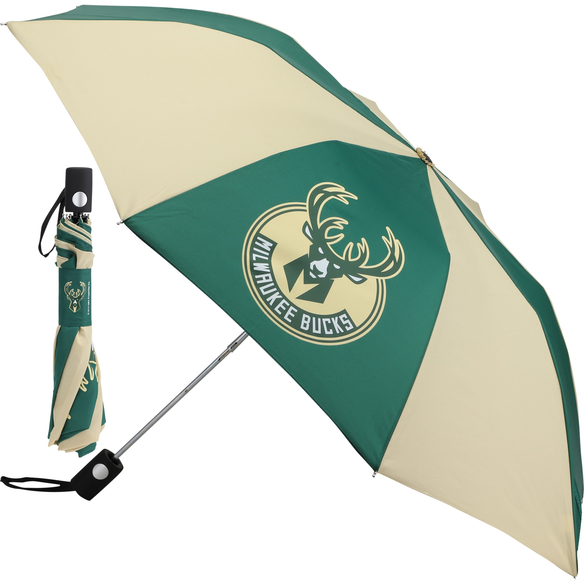 "Milwaukee Bucks WinCraft 42"" Folding Umbrella"