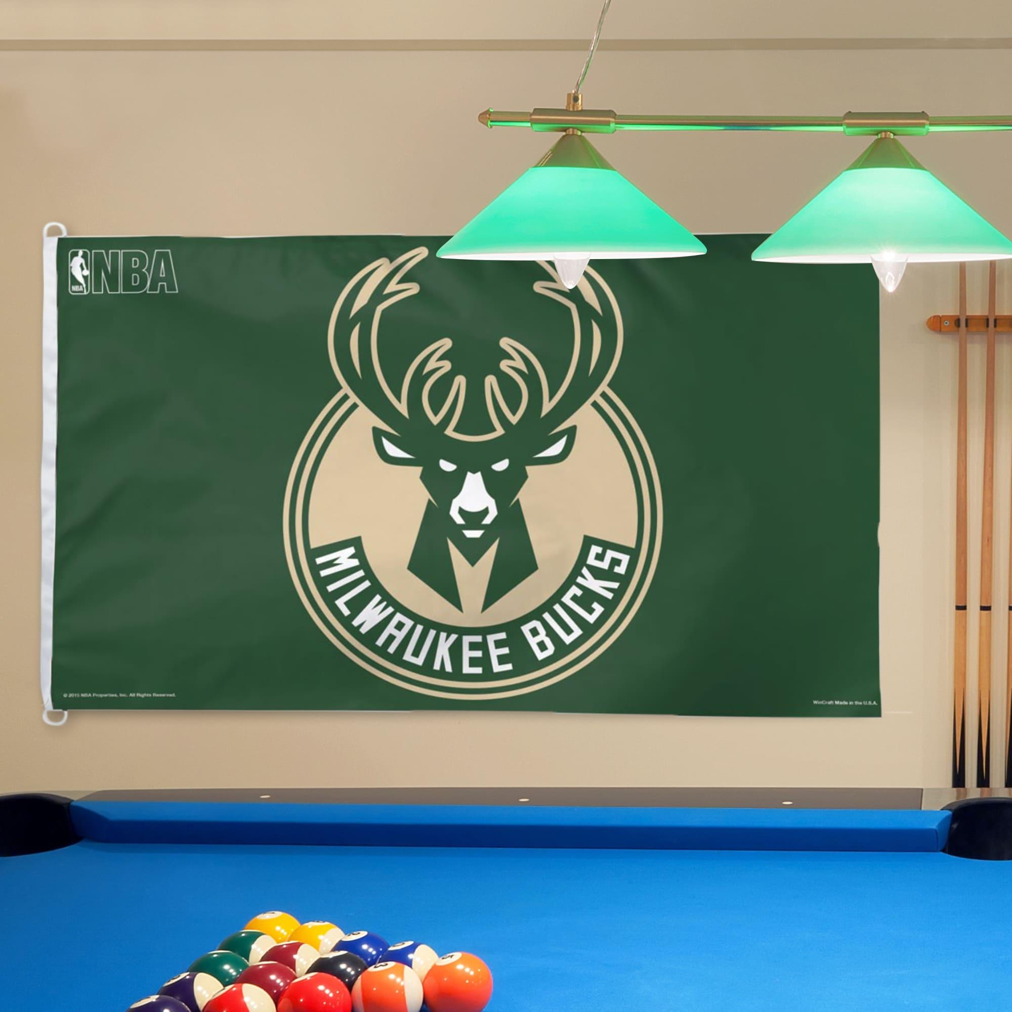 Milwaukee Bucks WinCraft Deluxe 3' x 5' One-Sided Flag