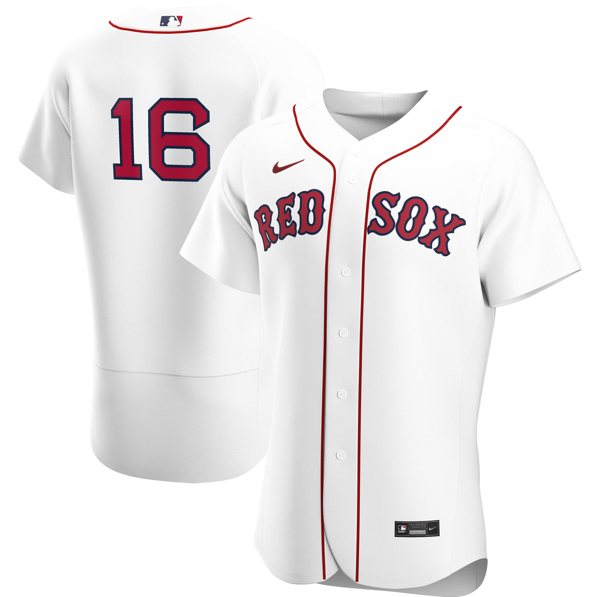 Andrew Benintendi Boston Red Sox Nike Home 2020 Authentic Player Jersey - White