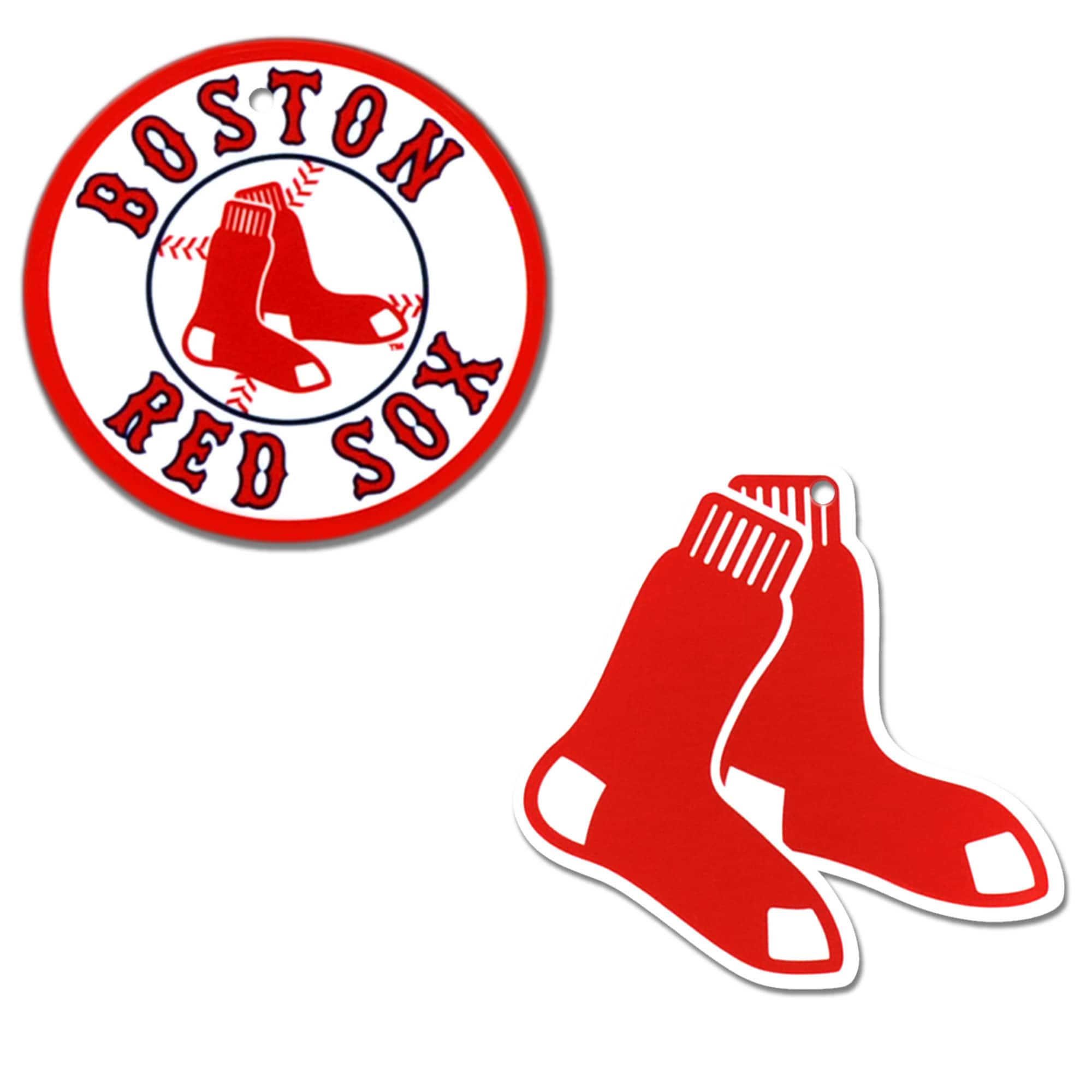Boston Red Sox 2-Pack Steel Magnet Set