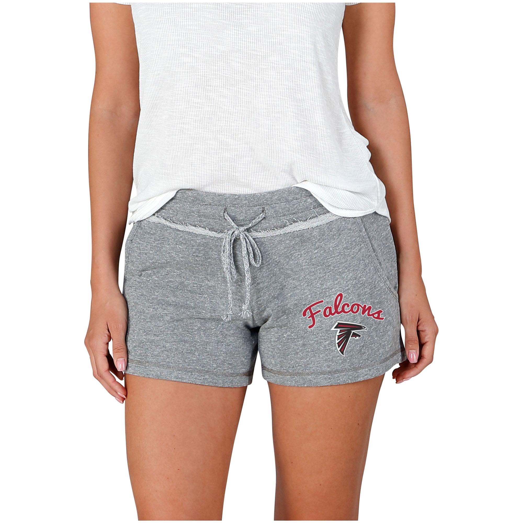 Atlanta Falcons Concepts Sport Women's Mainstream Terry Shorts - Gray
