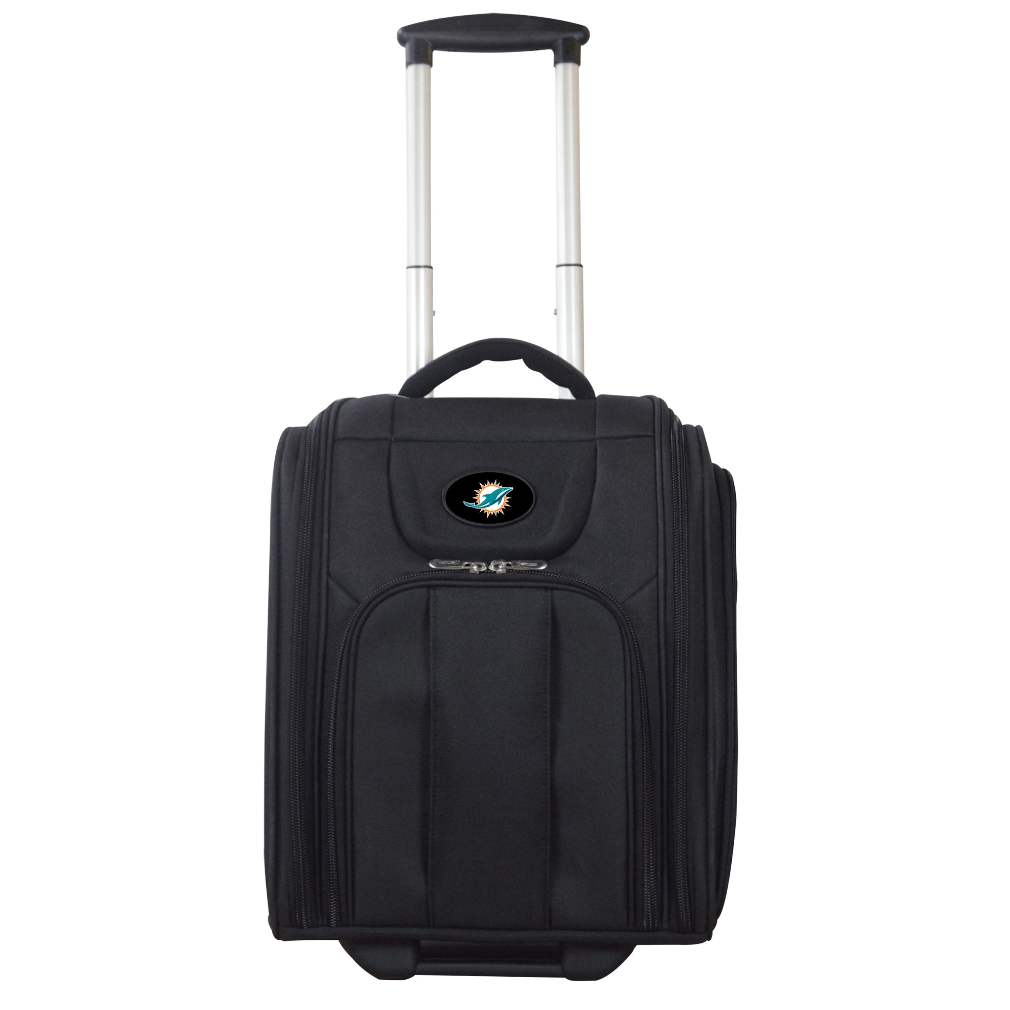 """Miami Dolphins 16"""" Business Tote Laptop Bag - Black"""