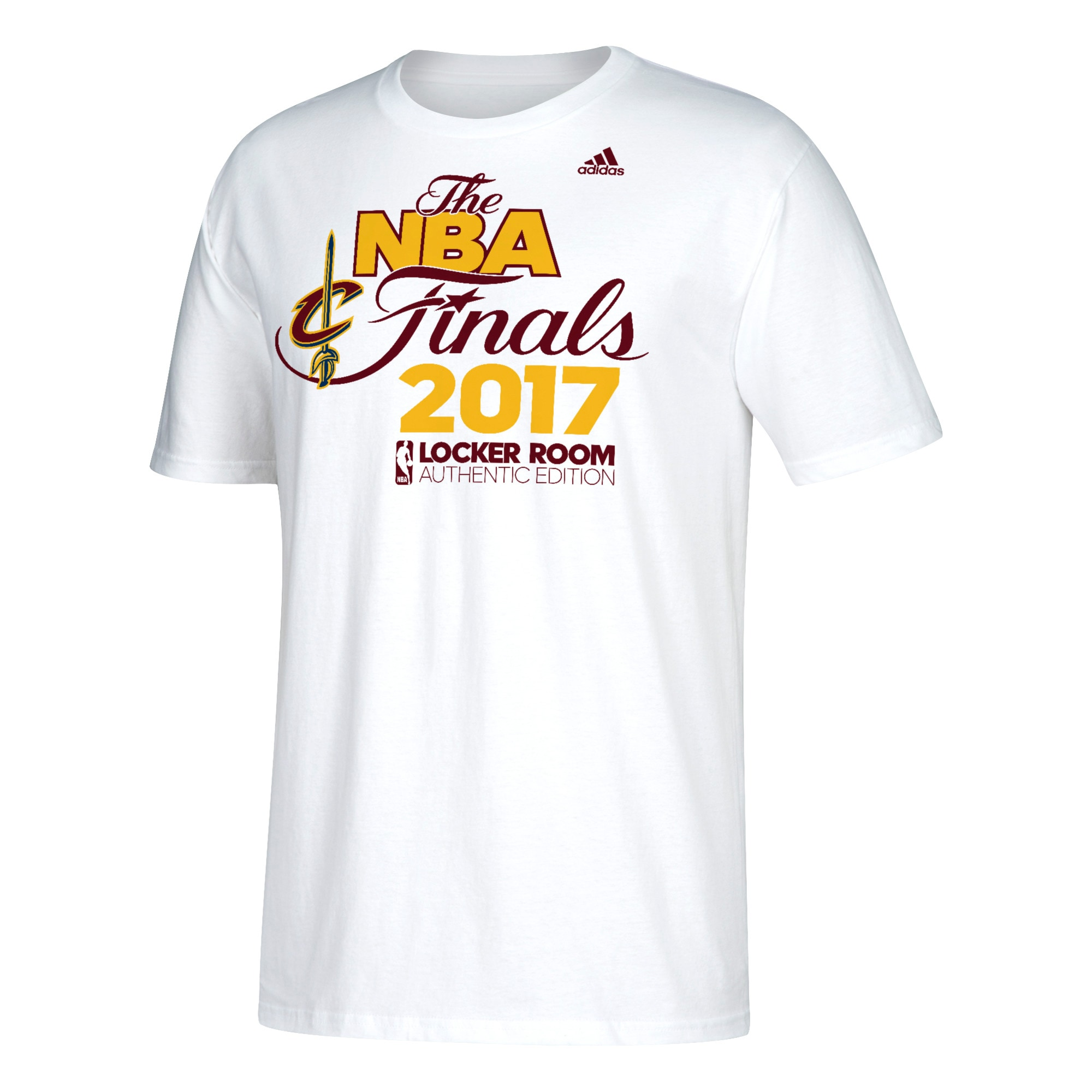 Cleveland Cavaliers adidas 2017 Eastern Conference Champions Locker Room T-Shirt - White