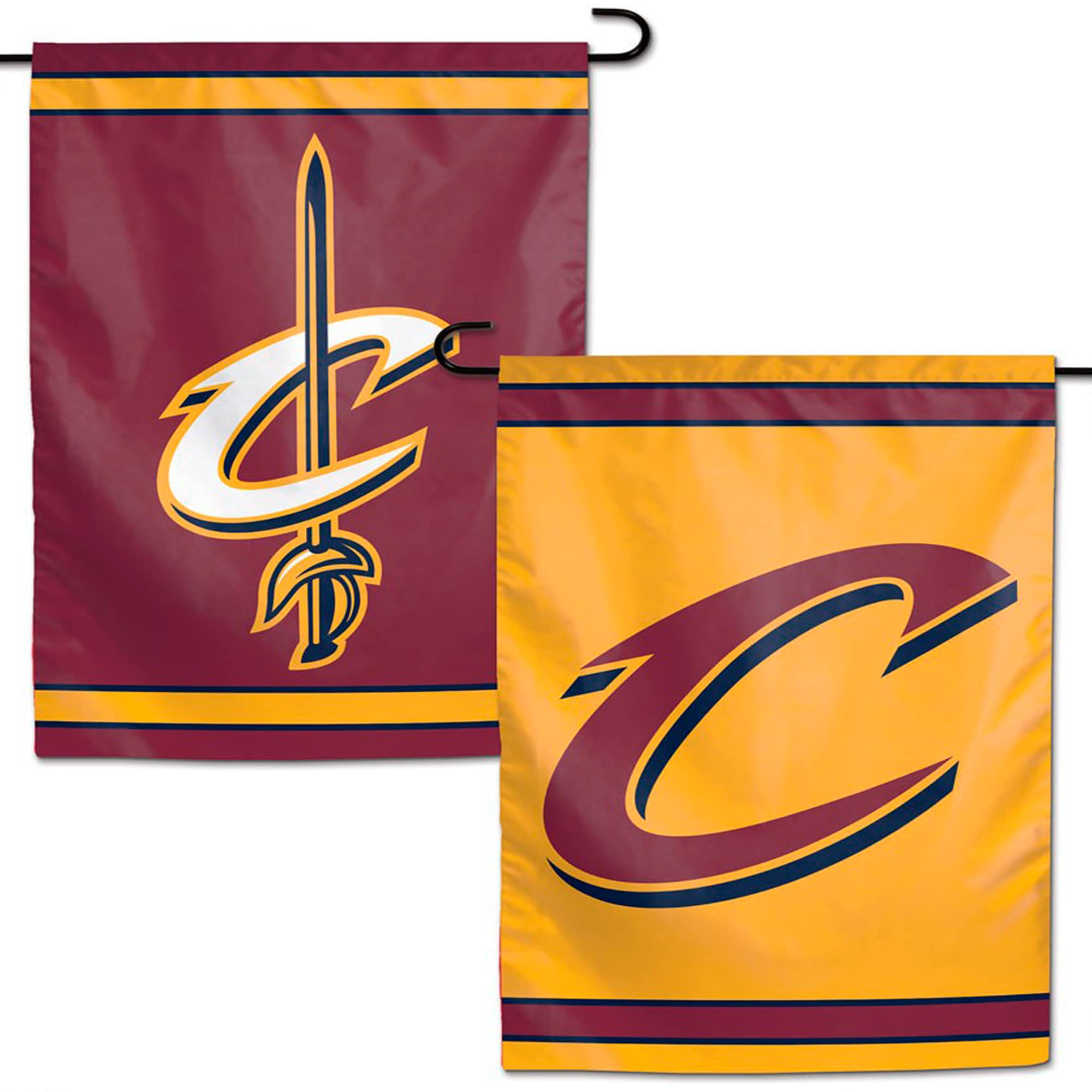 """Cleveland Cavaliers WinCraft 12"""" x 18"""" Double-Sided Garden Flag"""