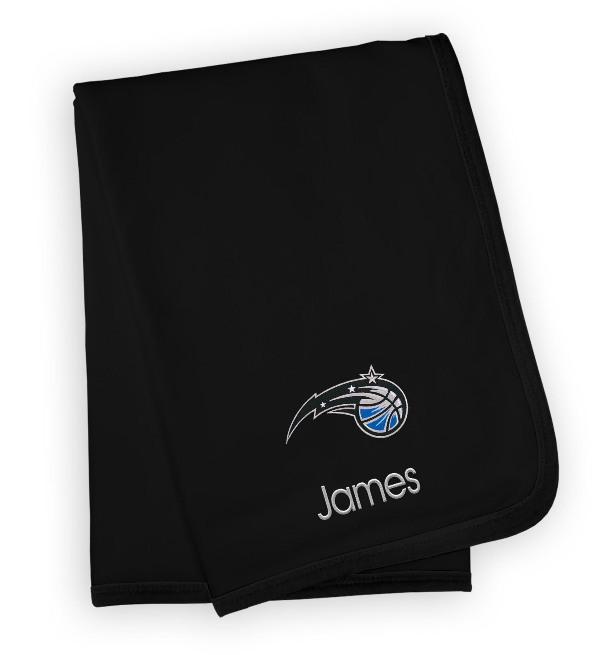 Orlando Magic Infant Personalized Blanket - Black