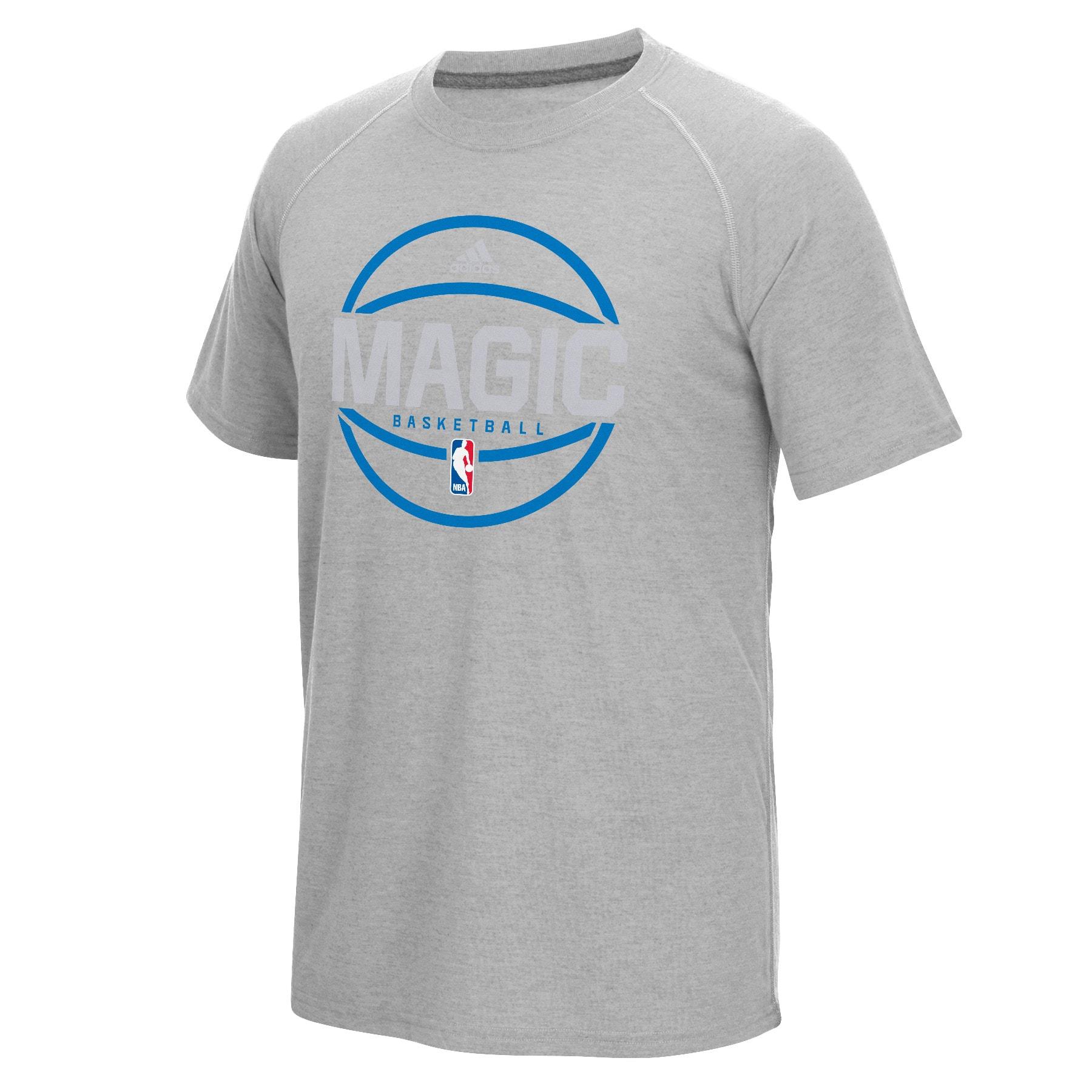 Orlando Magic adidas On-Court climalite Pre-Game T-Shirt - Gray