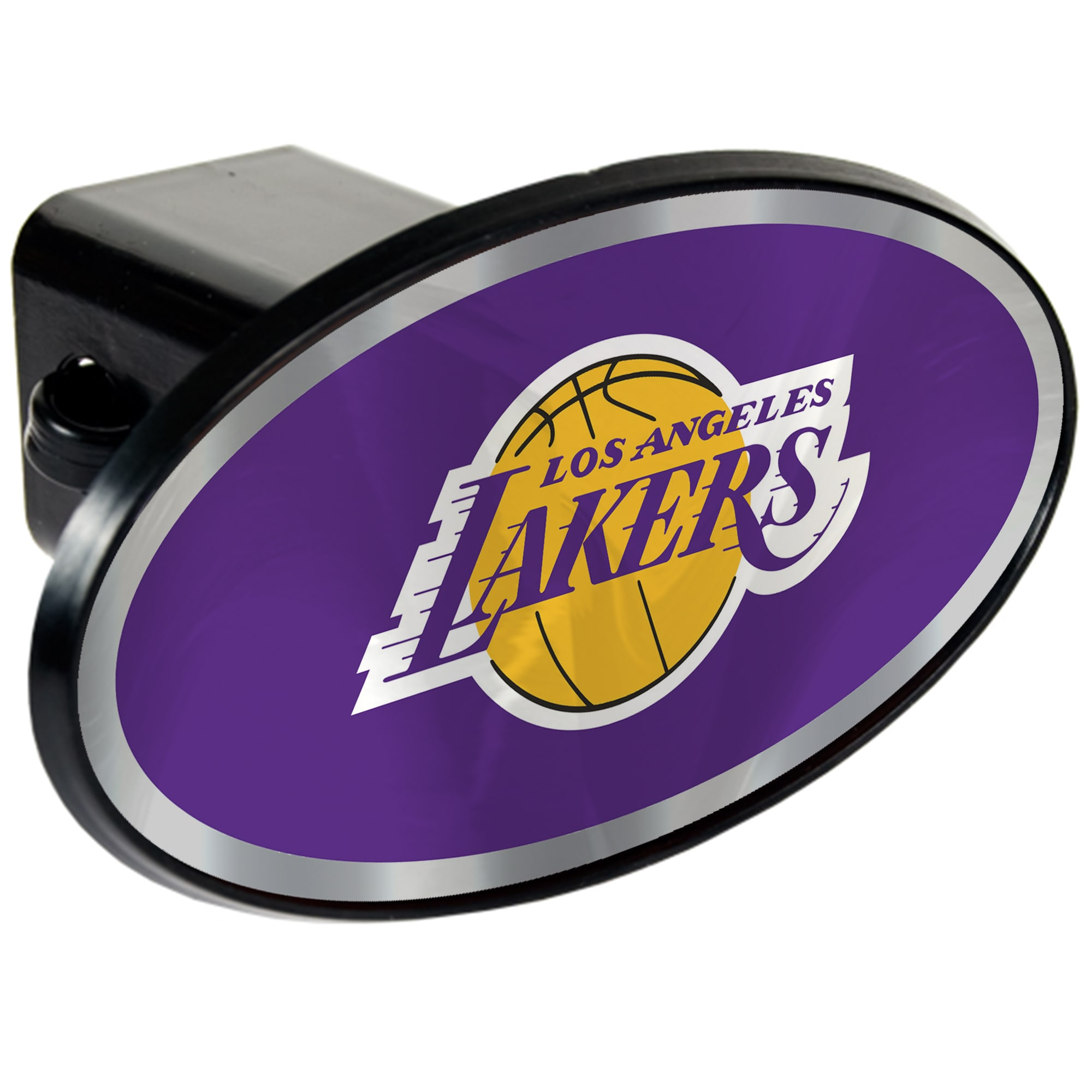 Los Angeles Lakers Oval Car Hitch Cover
