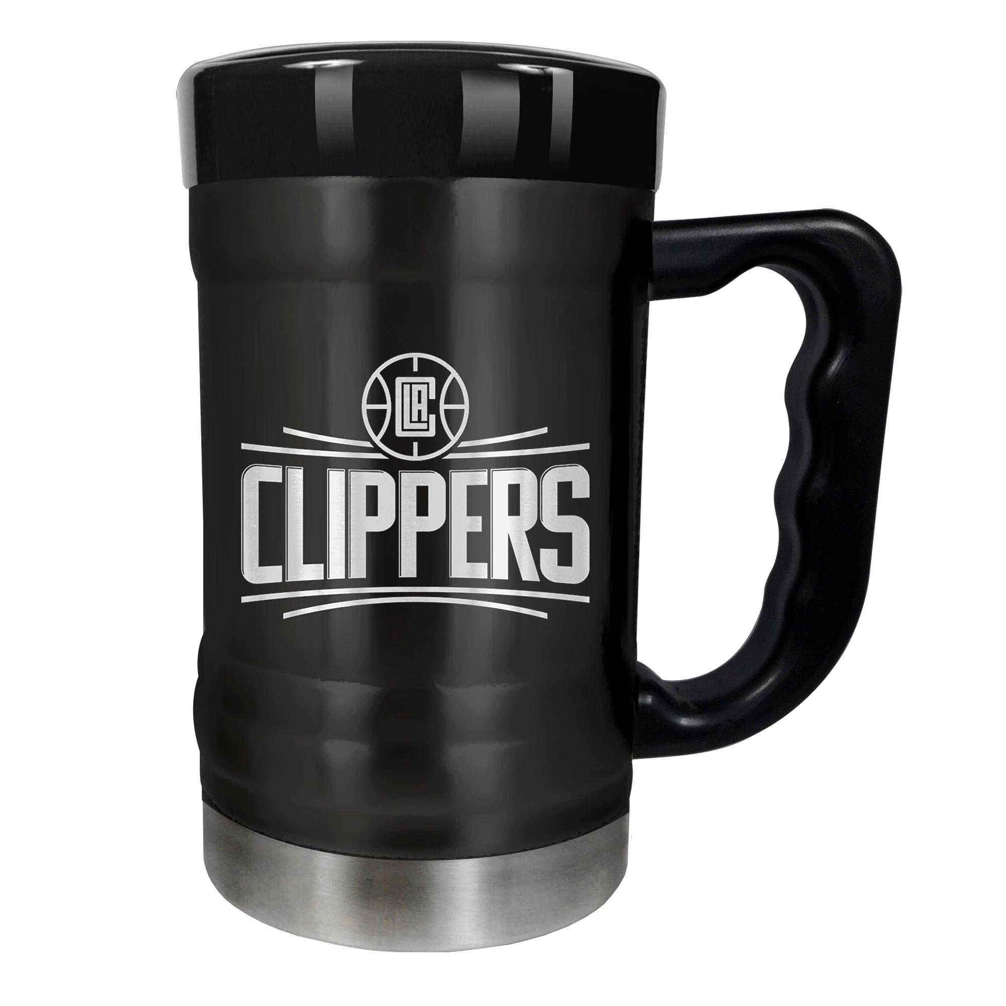 LA Clippers 15oz. Stealth Coach Coffee Mug - Black