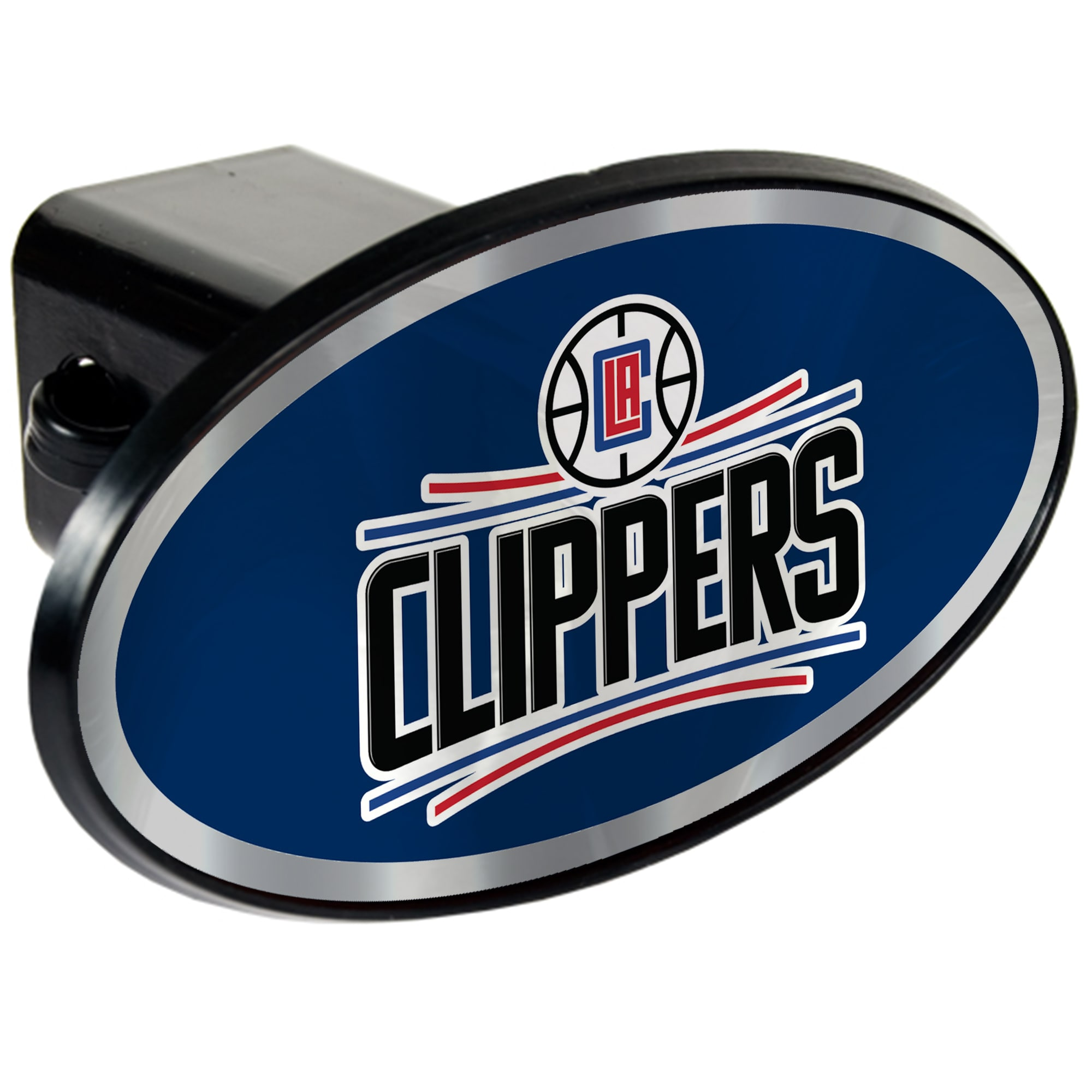 LA Clippers Oval Car Hitch Cover