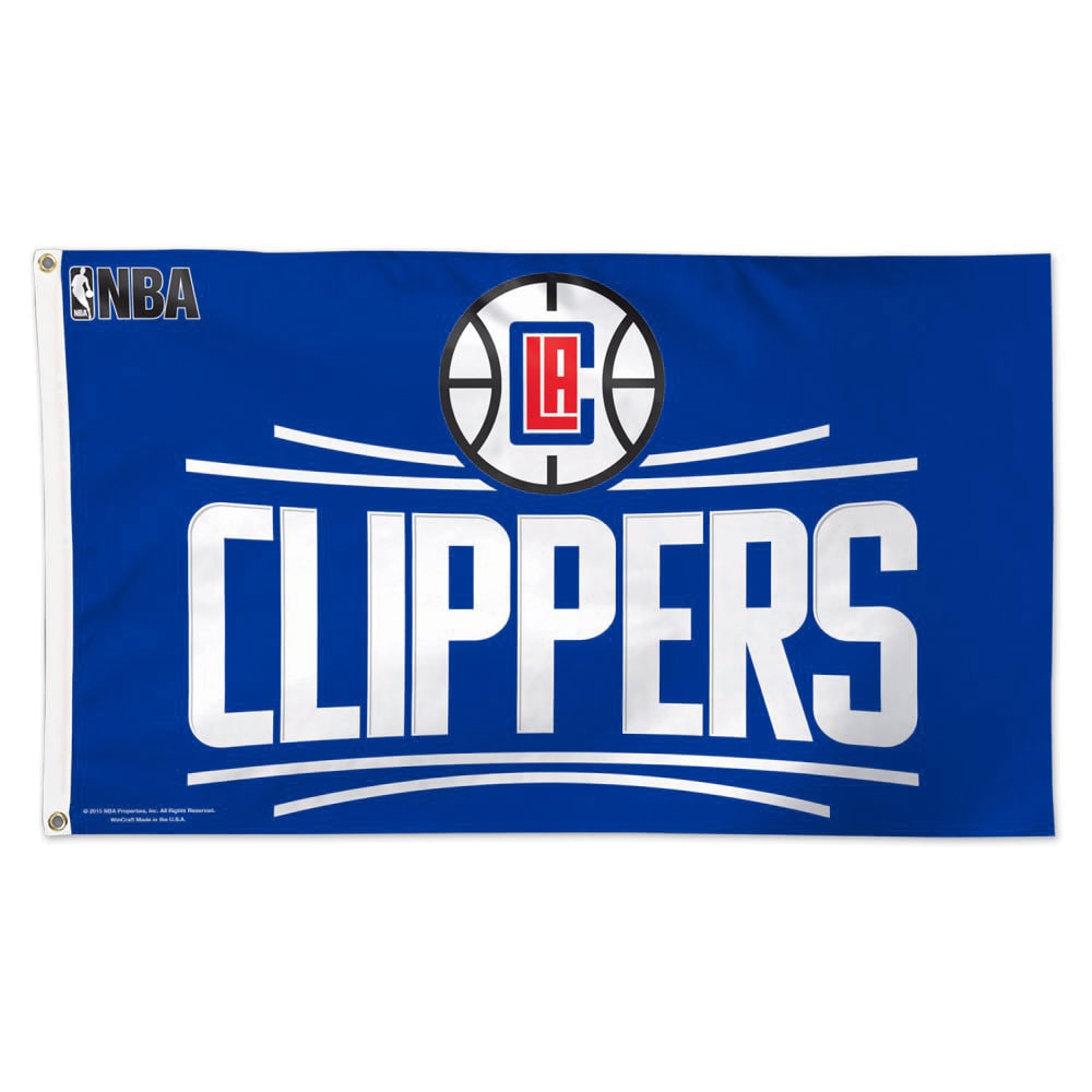 LA Clippers WinCraft 3' x 5' Single-Sided Deluxe Flag